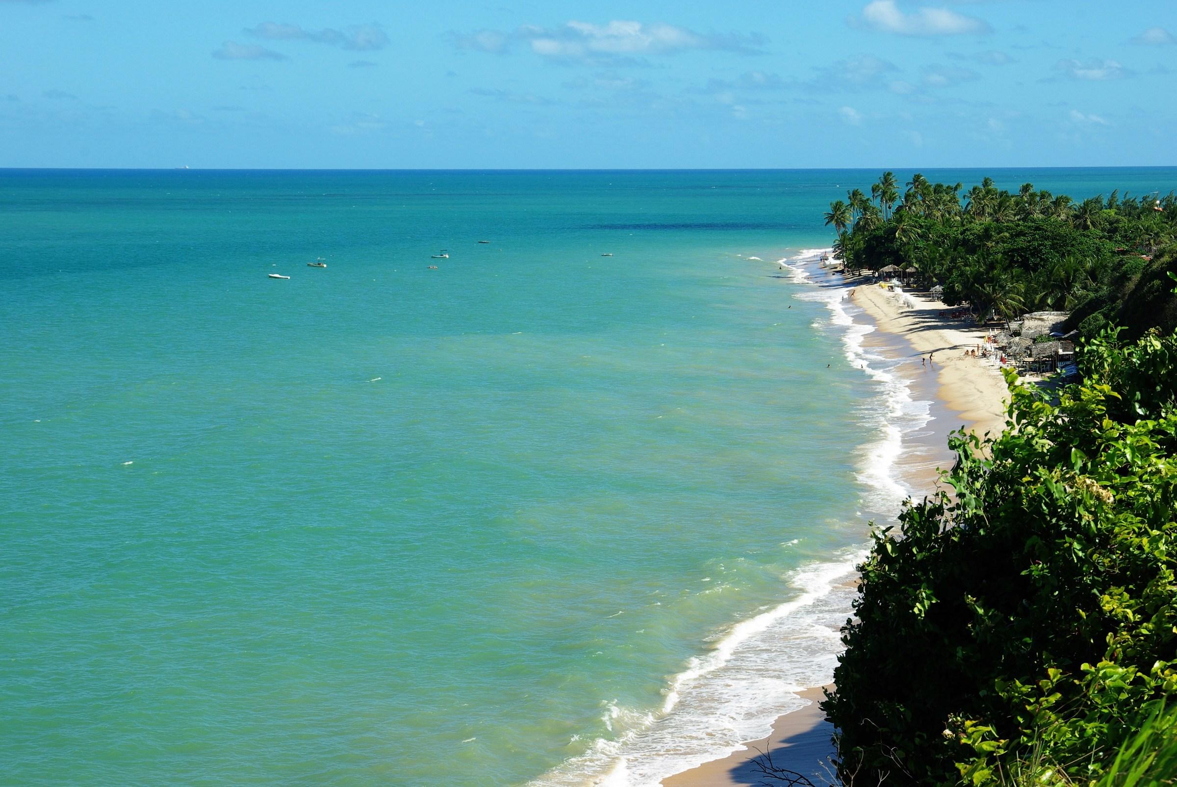 La spiaggia più orientale dell'America Latina...