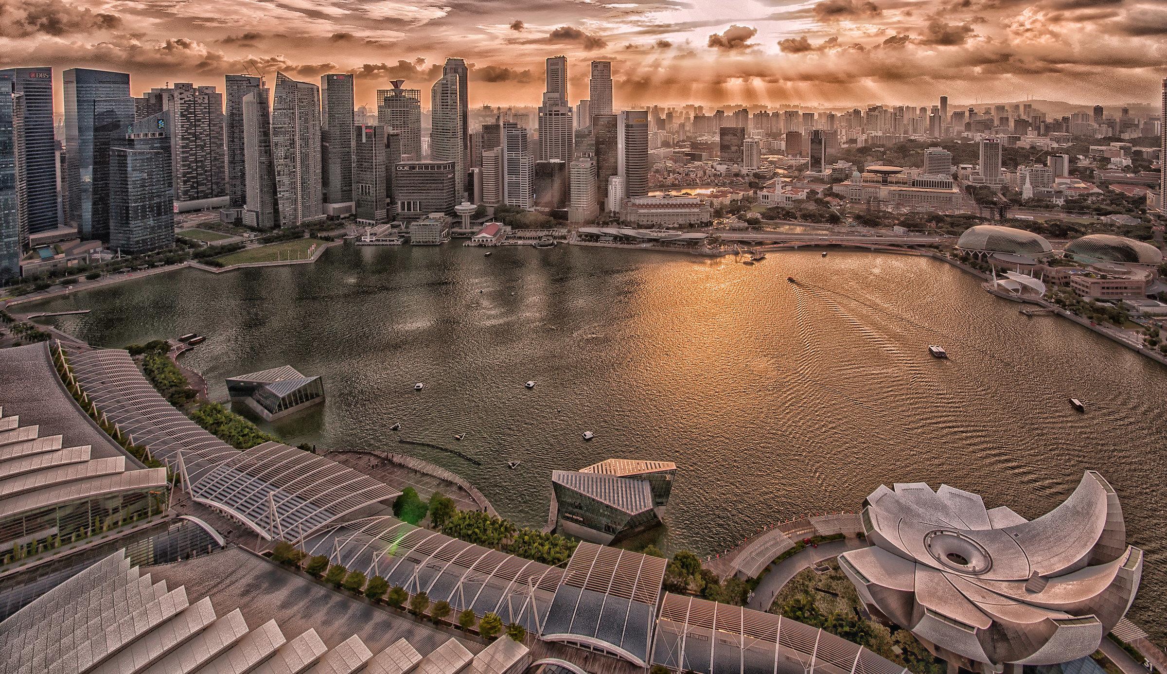 Singapore, volutamente esagerata...