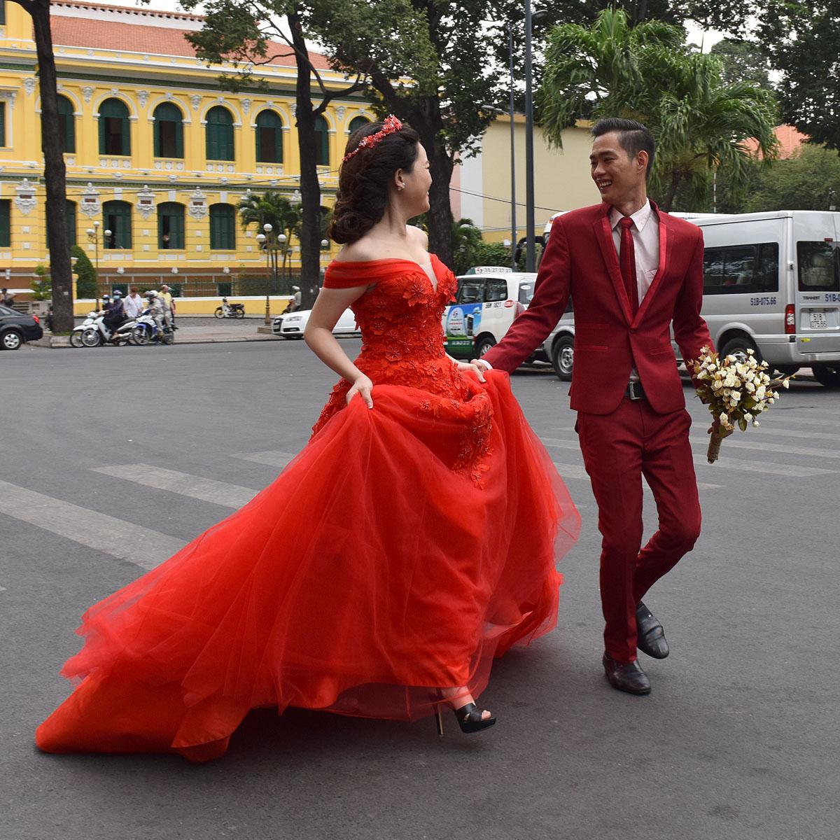 wedding in Saigon...