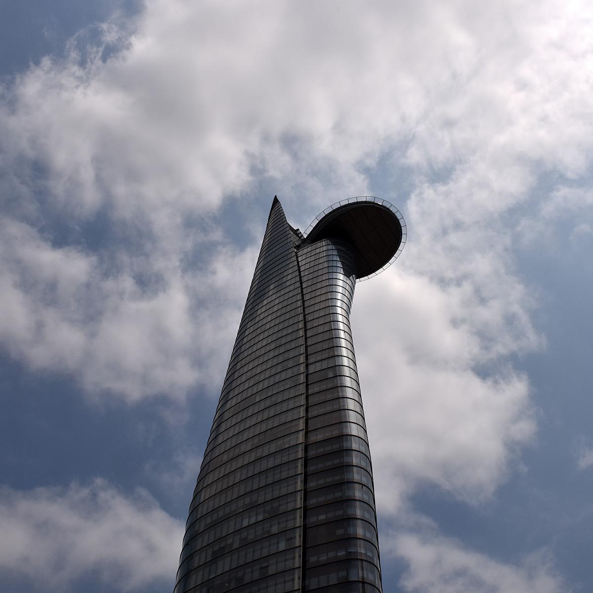 Bitexco Financial Tower Saigon now Ho Chi Min...