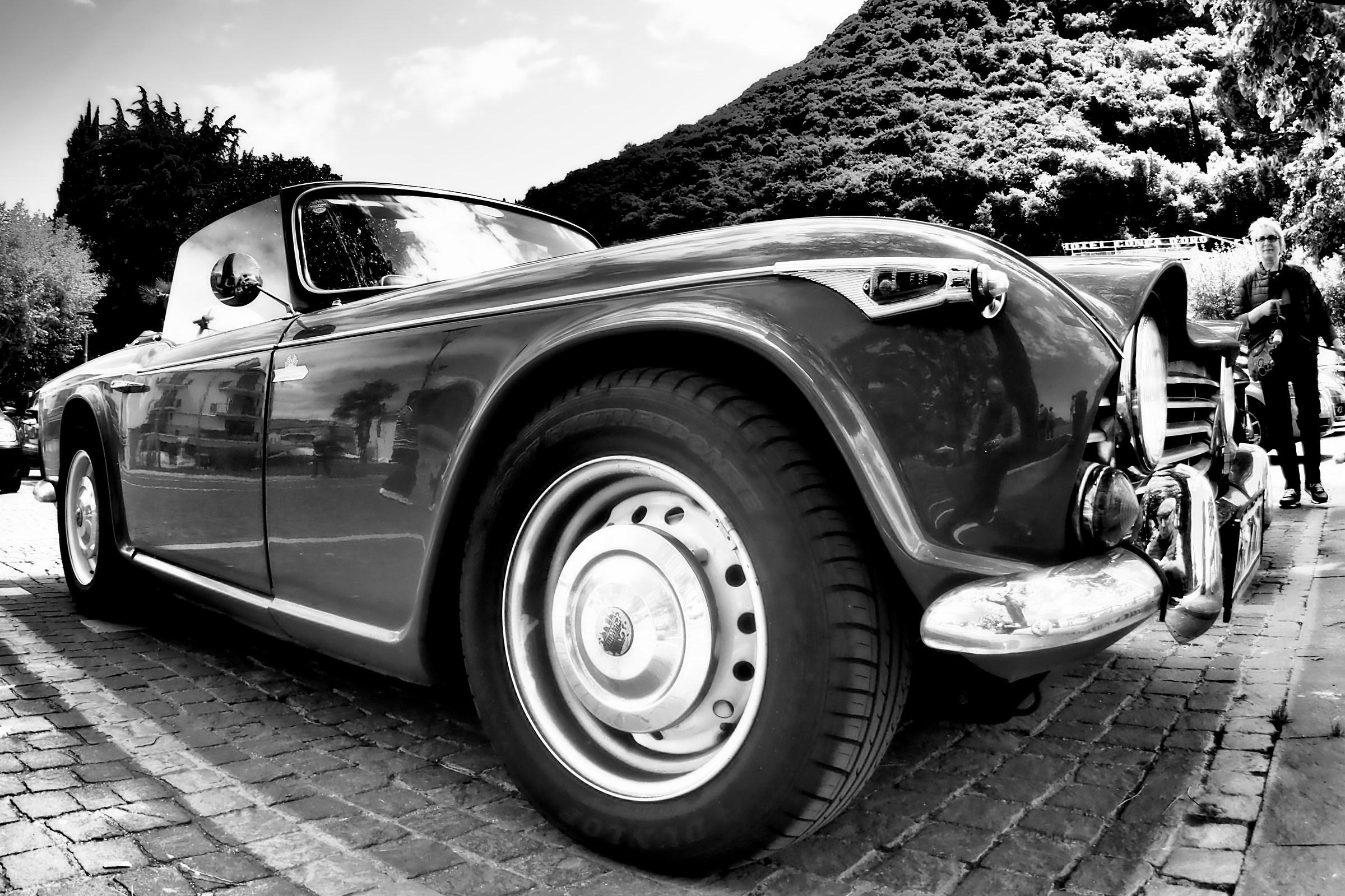 The car...