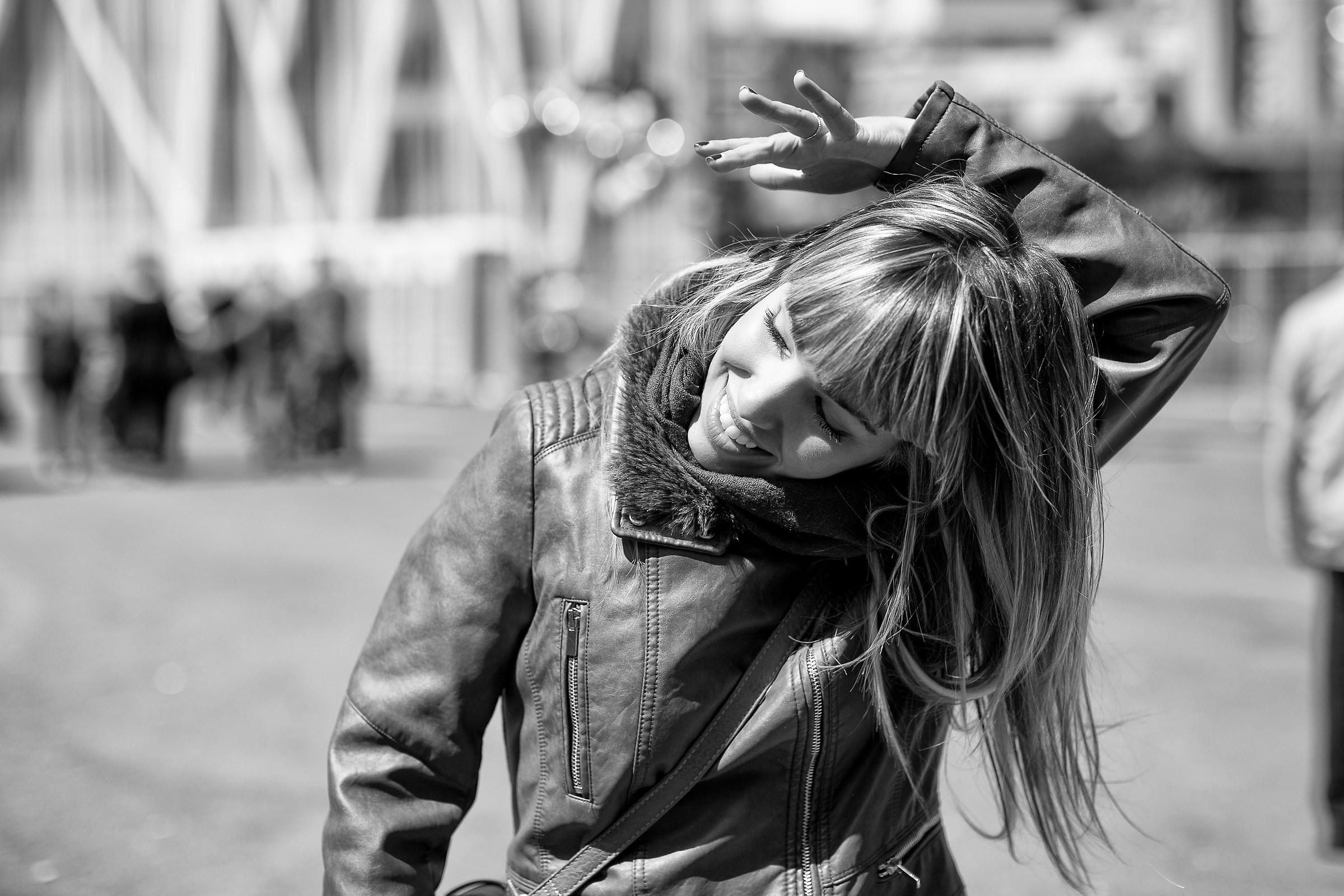 il vento nei capelli...