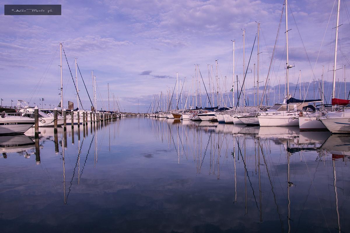 Rimini Harbour...