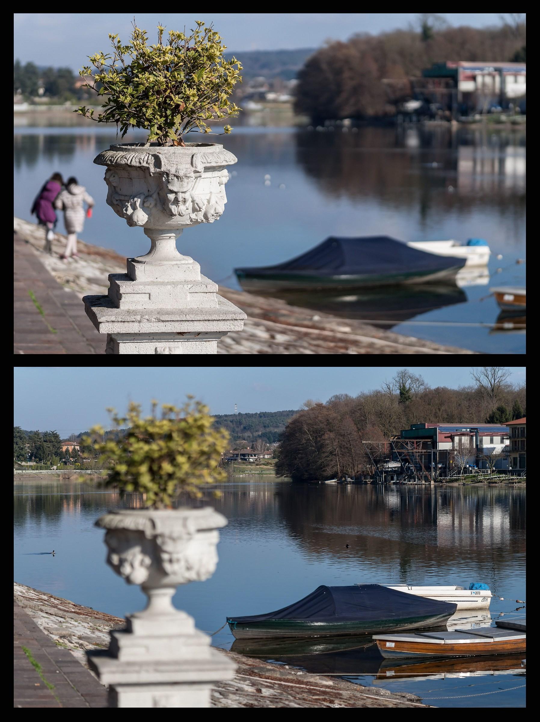 Pomeriggio di Marzo - Ansa del Ticino...