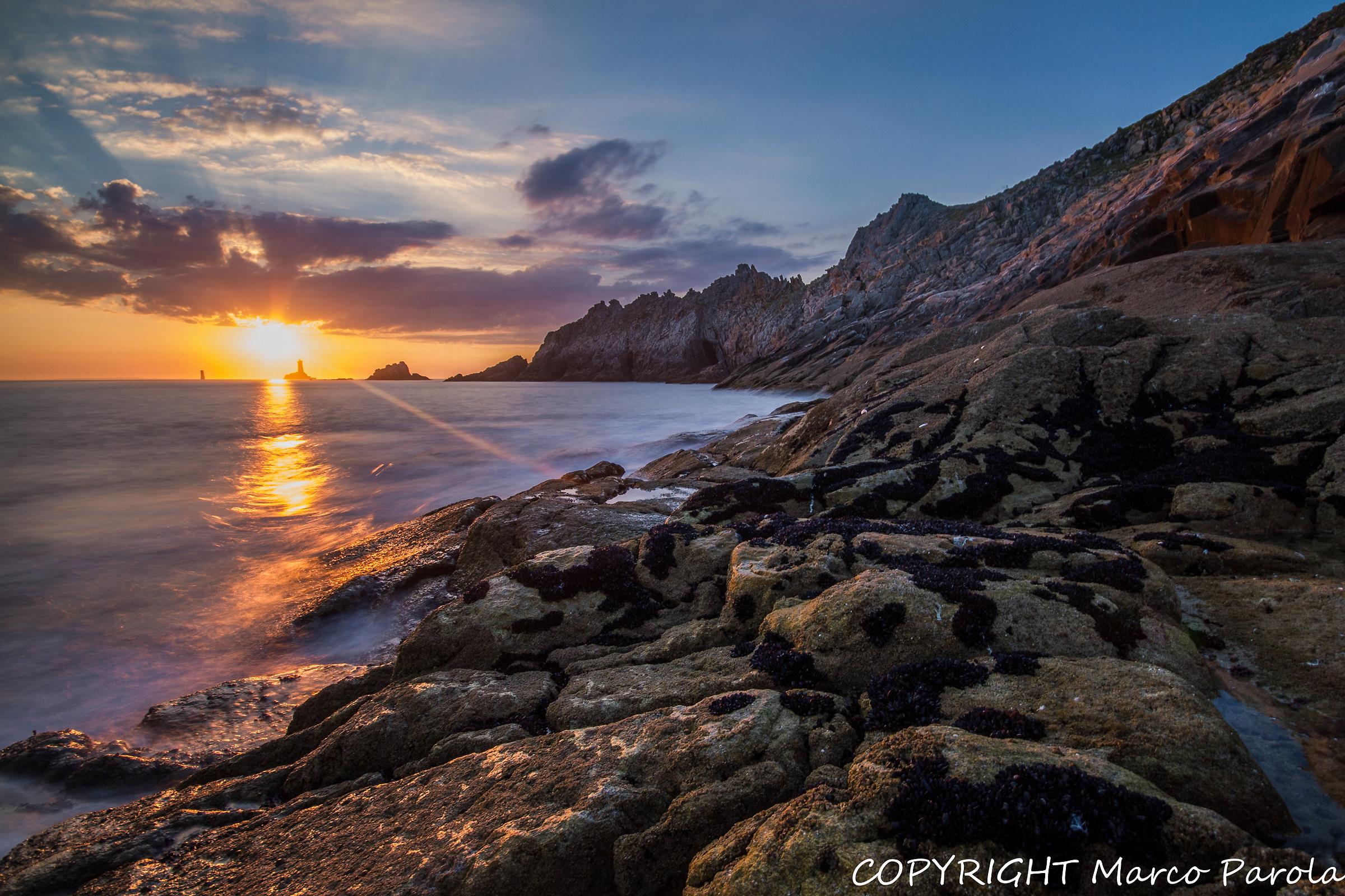 Sunset Pointe du Raz...