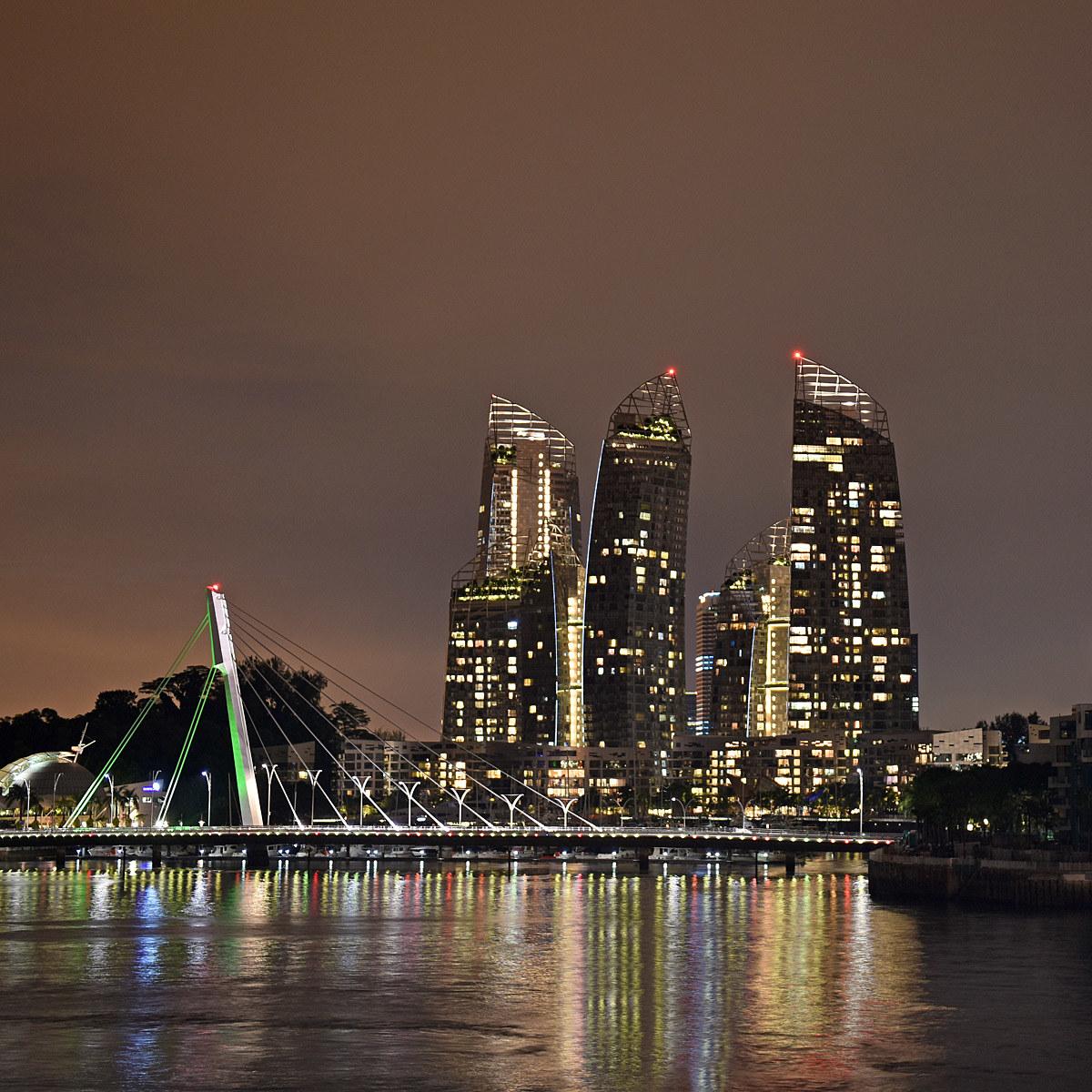 Marina at Keppel Bay Singapore...