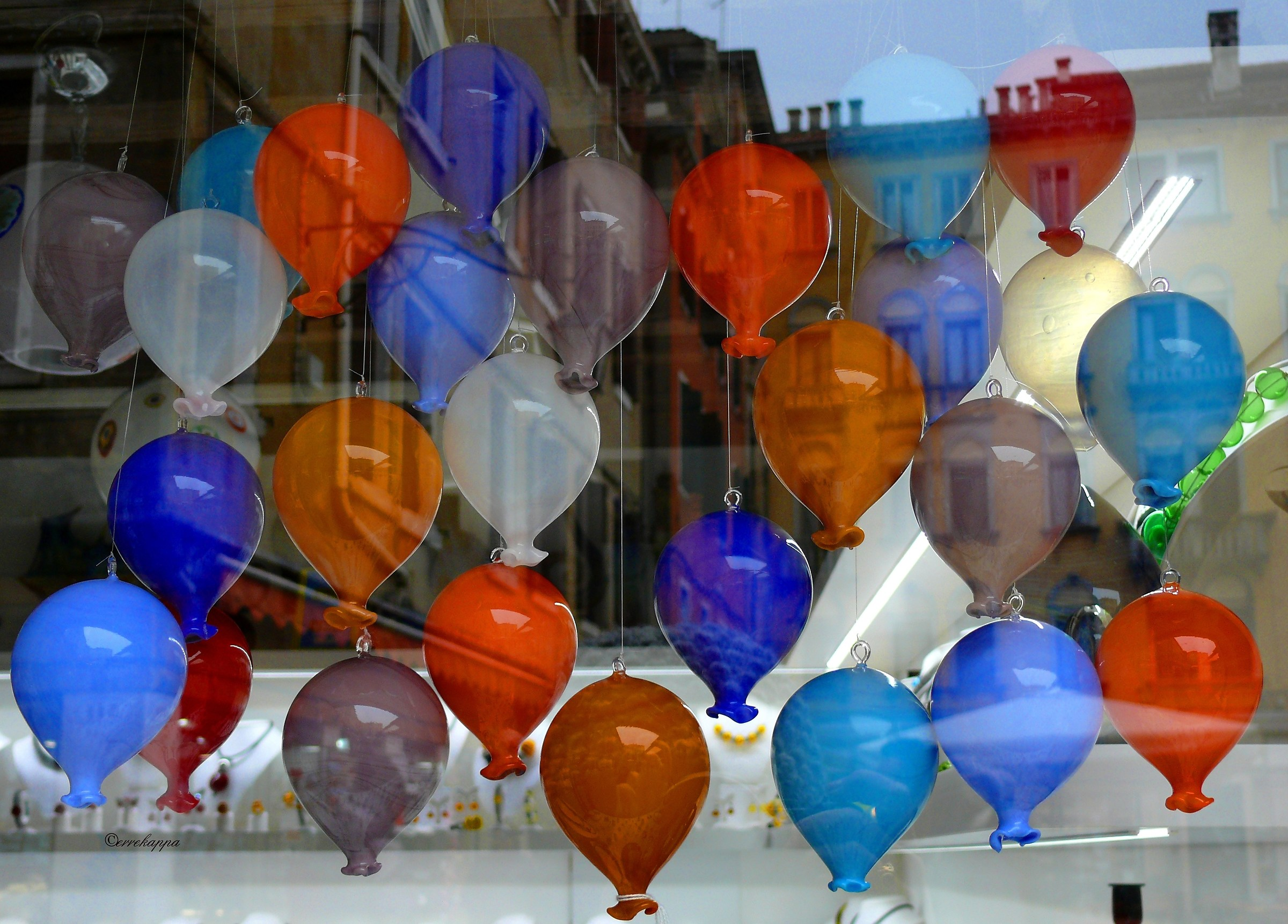 colored balloons / colored balloons...
