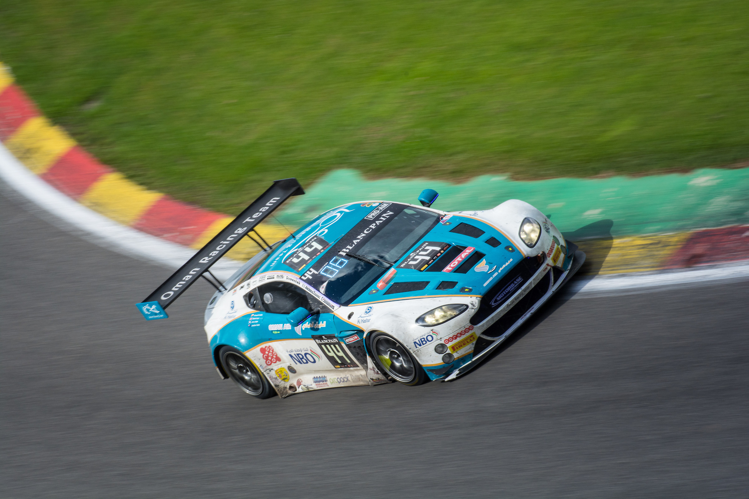 Aston Martin V12 Vantage GT3 - Blancpain 24hrs of Spa...