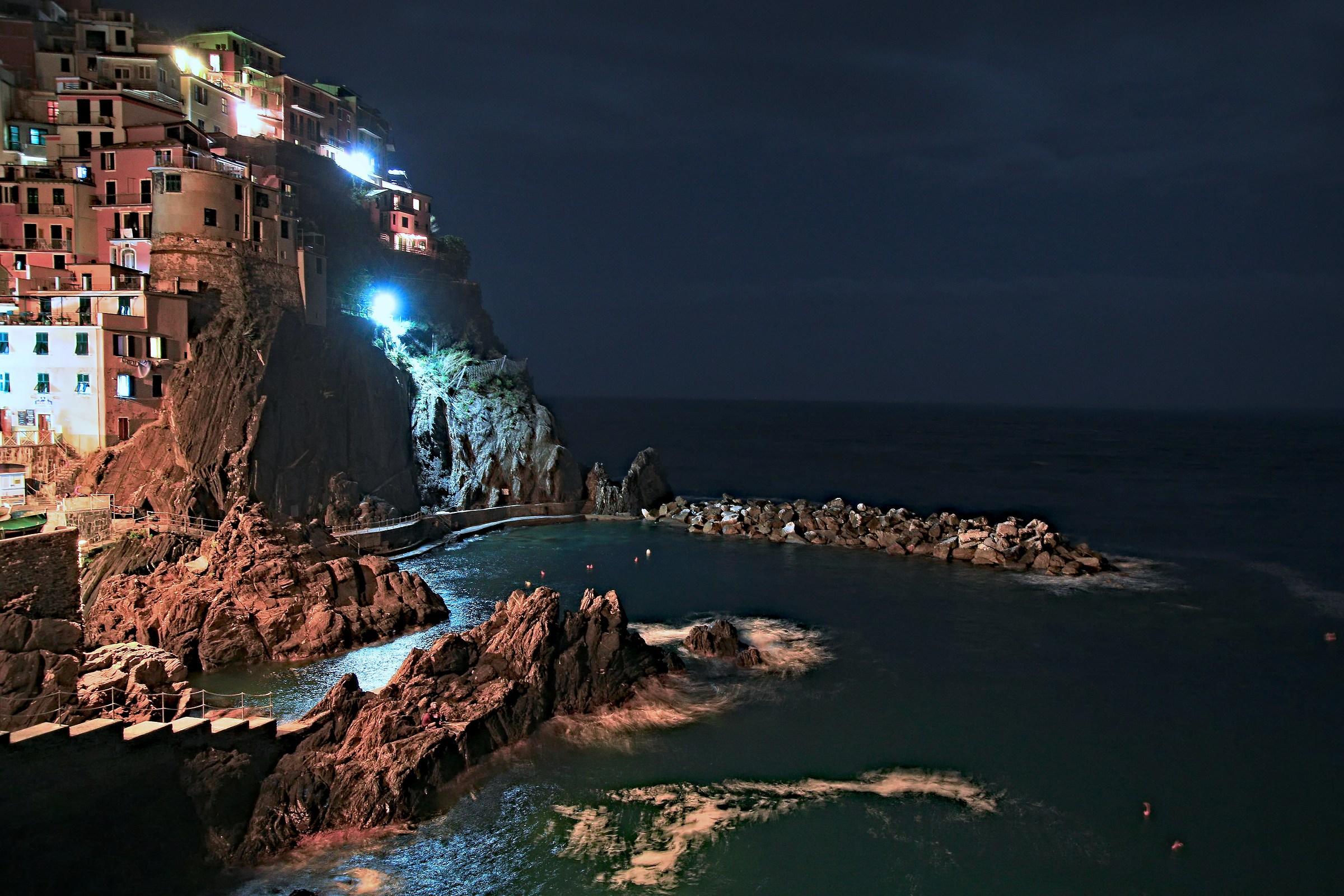 Cinque Terre free hand...