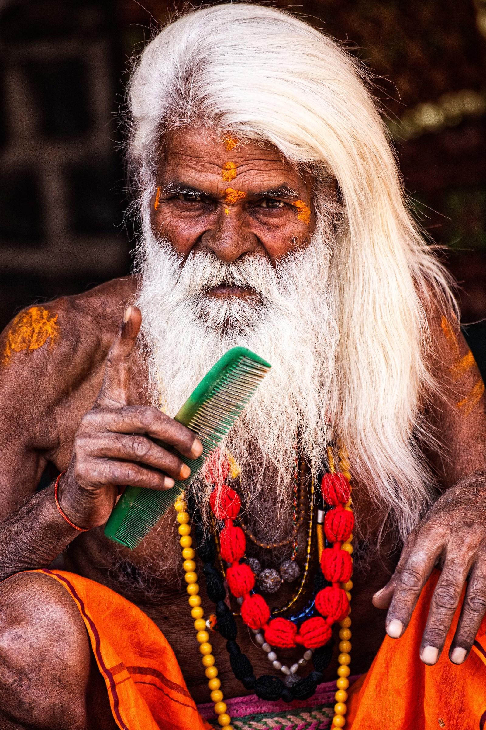 Naga Baba a Ujjain, Kumbh Mela Simhastha 2016....
