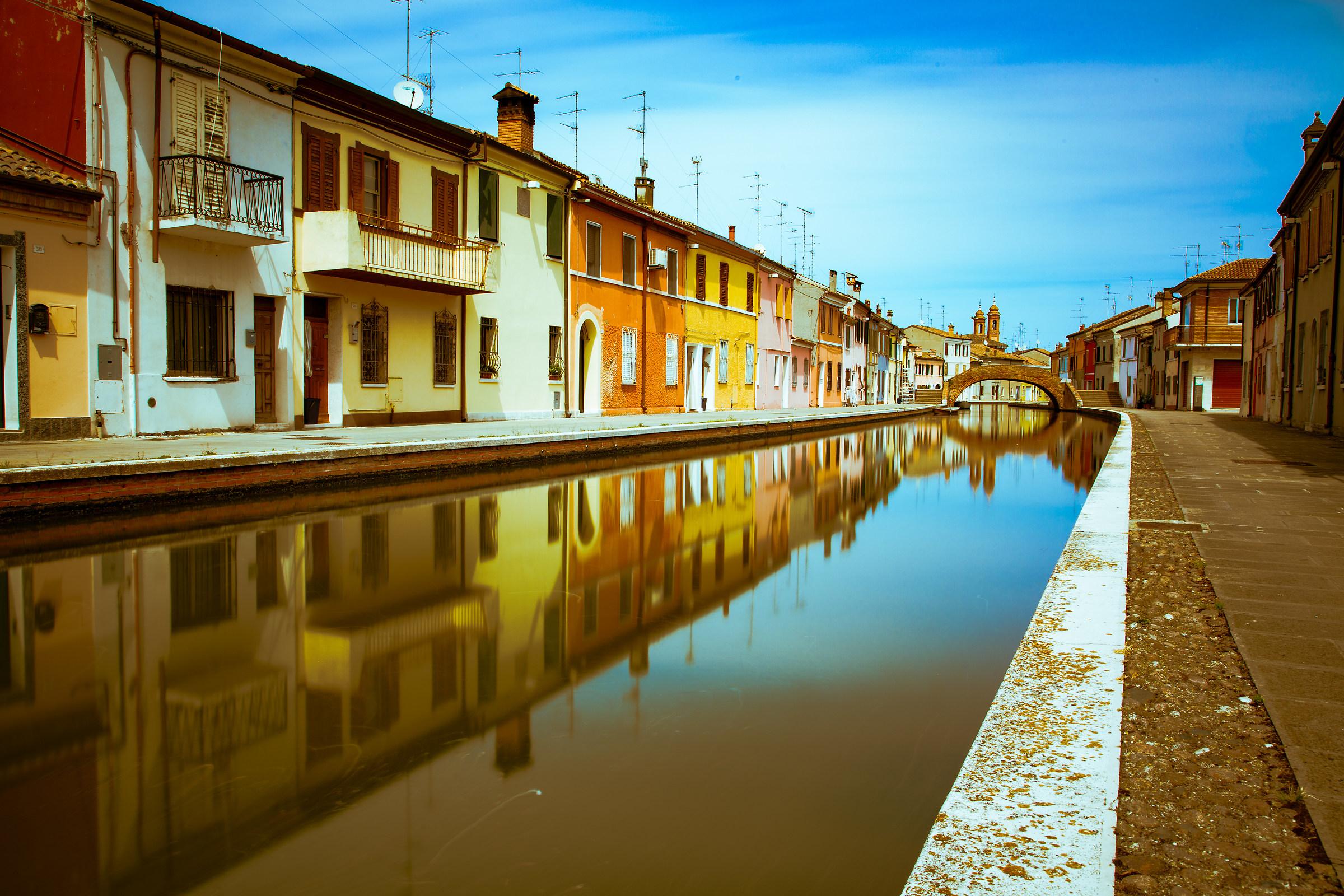 Le case nel fiume...