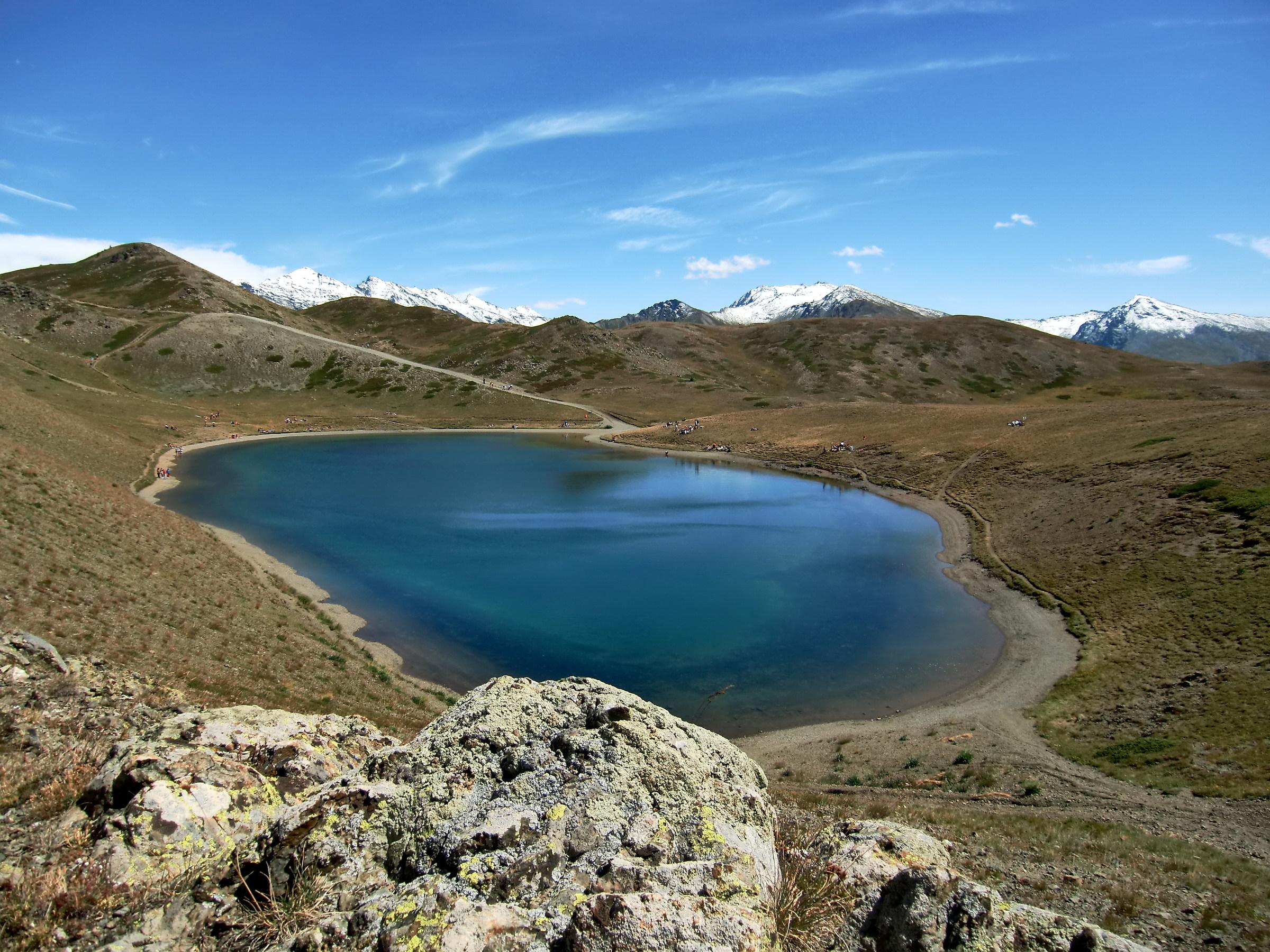 Seven Coloured Lake...