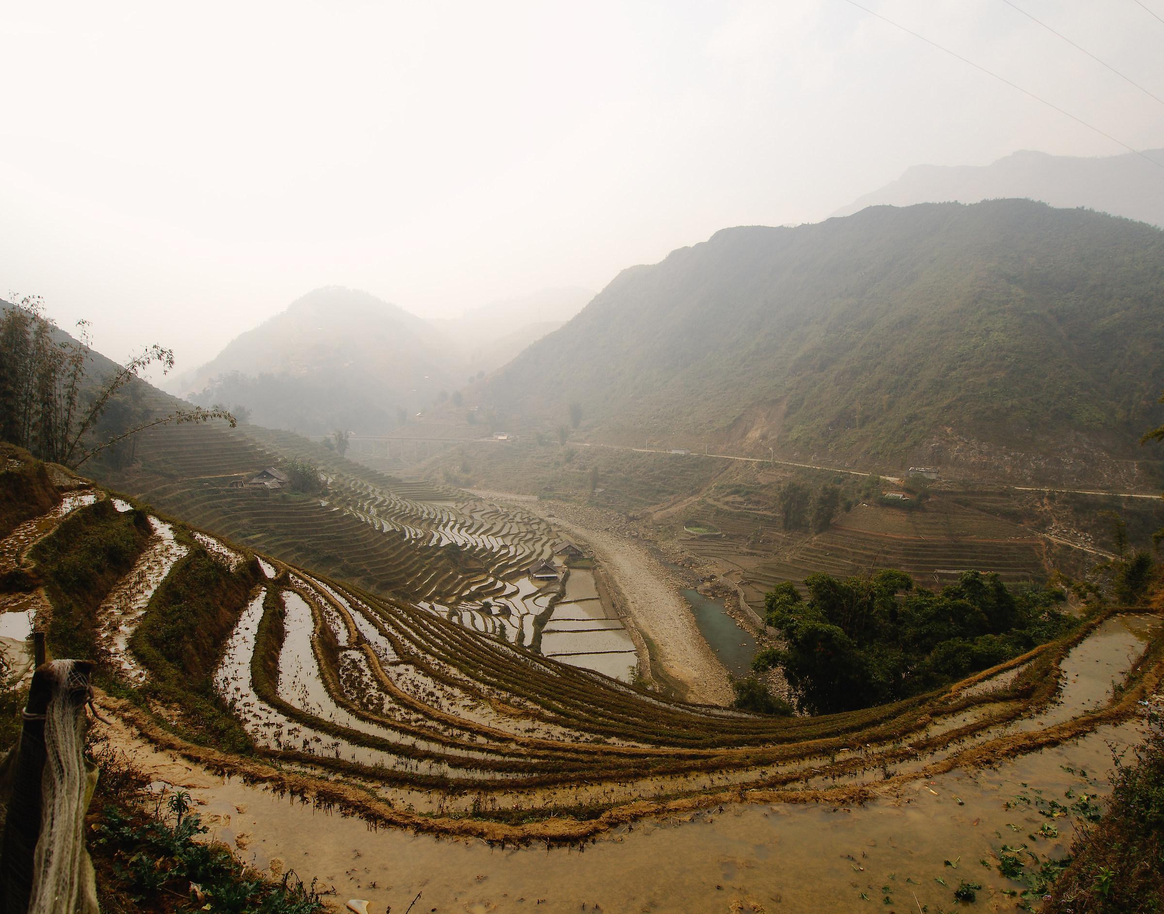 2016, Vietnam, Sapa Panorama...
