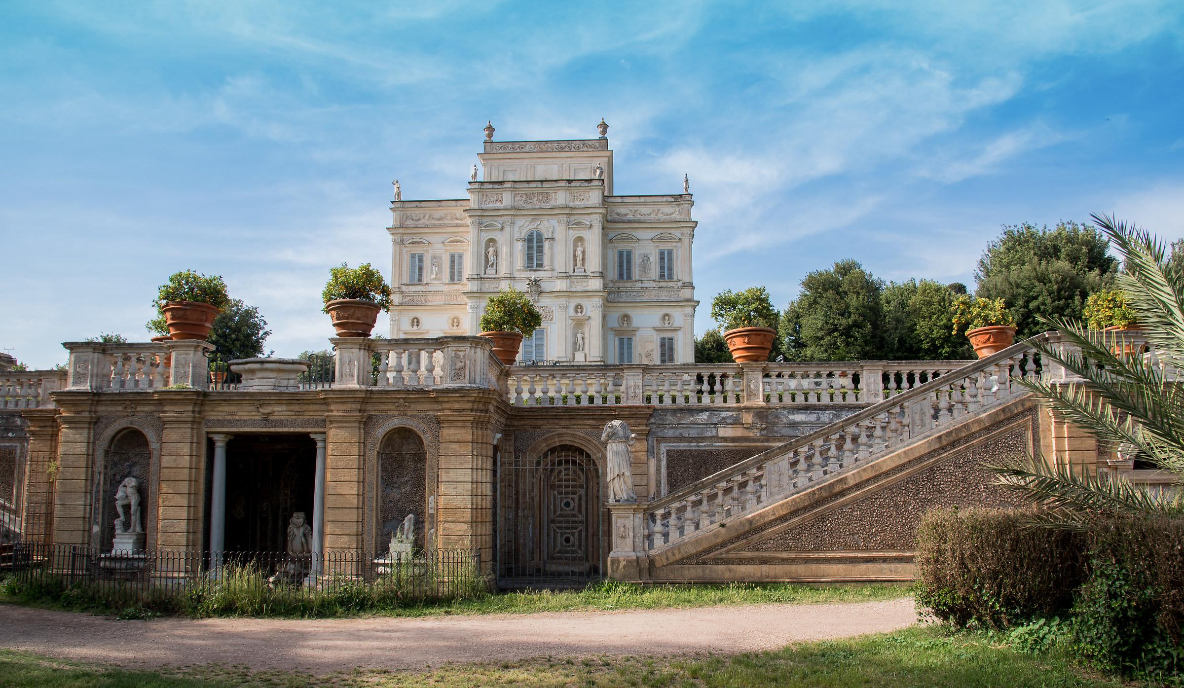 Villa Pamphili...