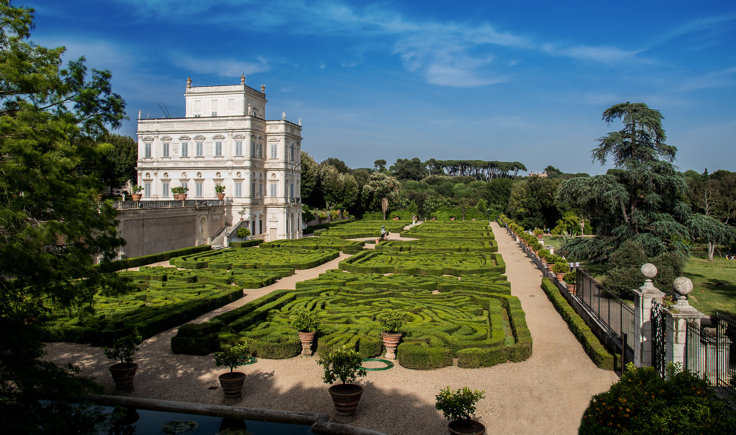 Villa Pamphili...