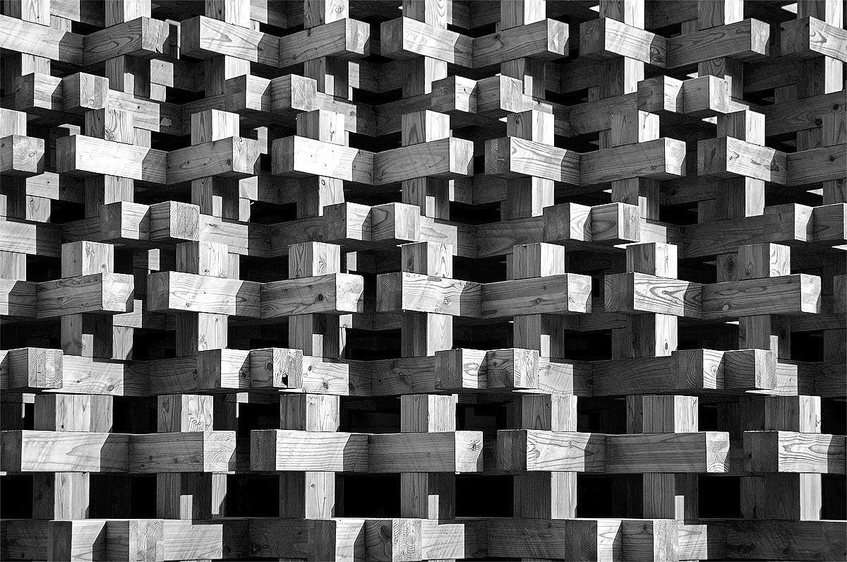 Wooden pattern...