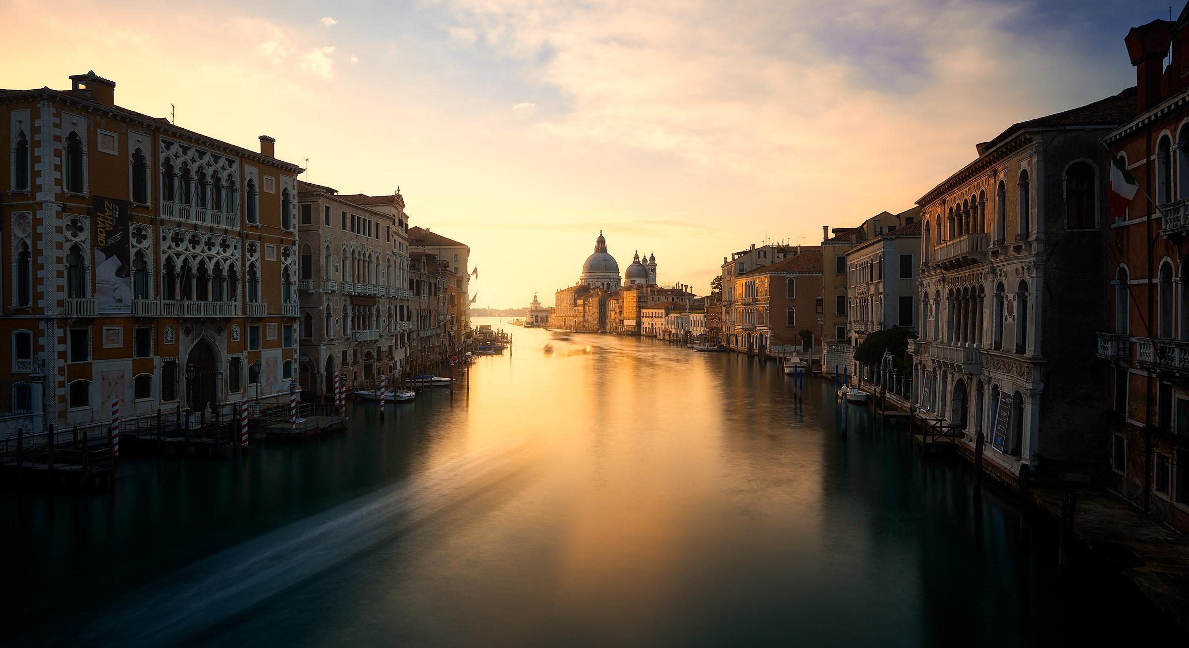 Venice - View from Accademia Bridge...