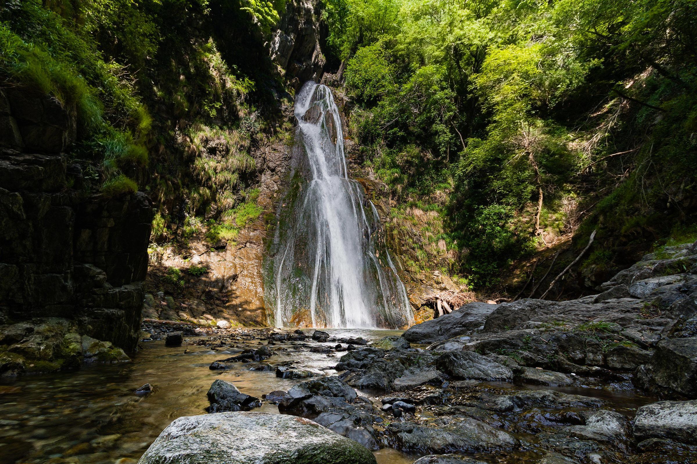 Second waterfall of Cittiglio...