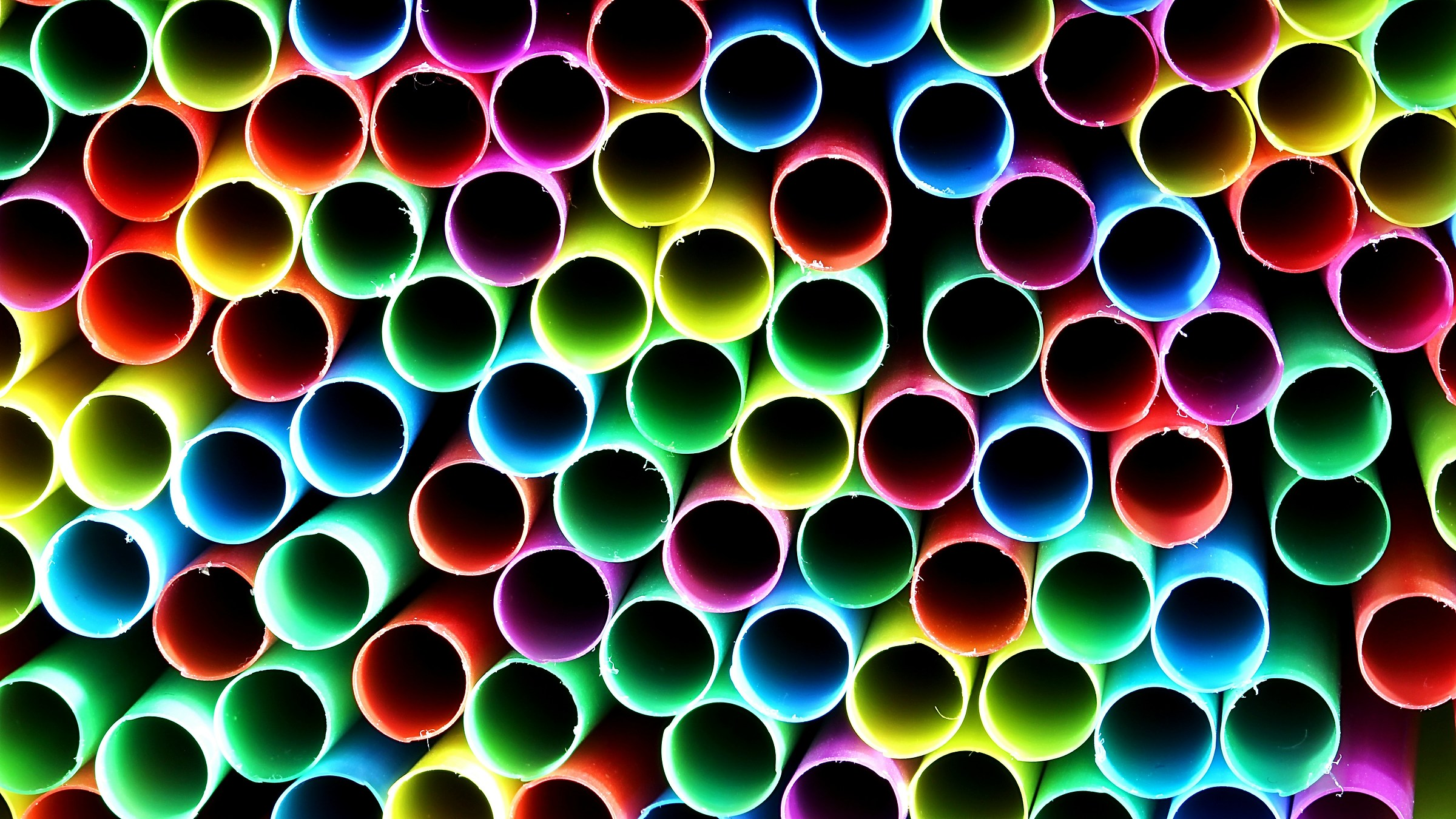 straws...