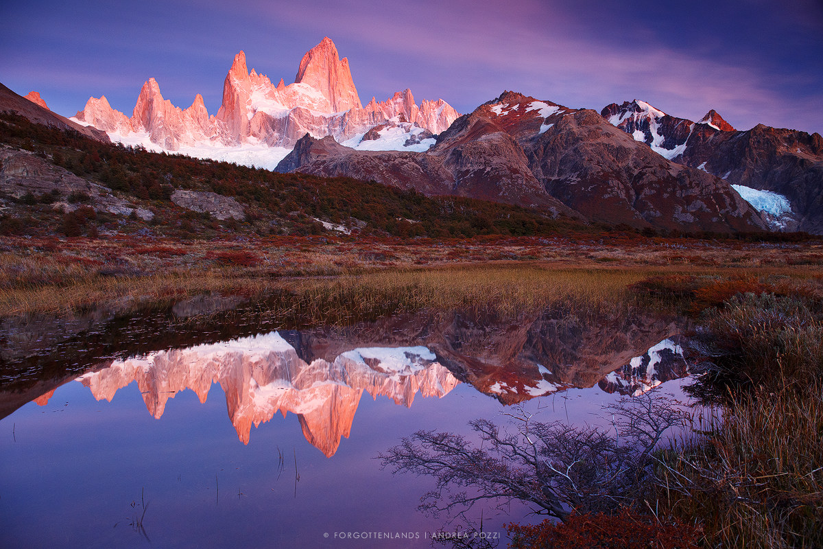 The Cathedral of the Fitz Roy...