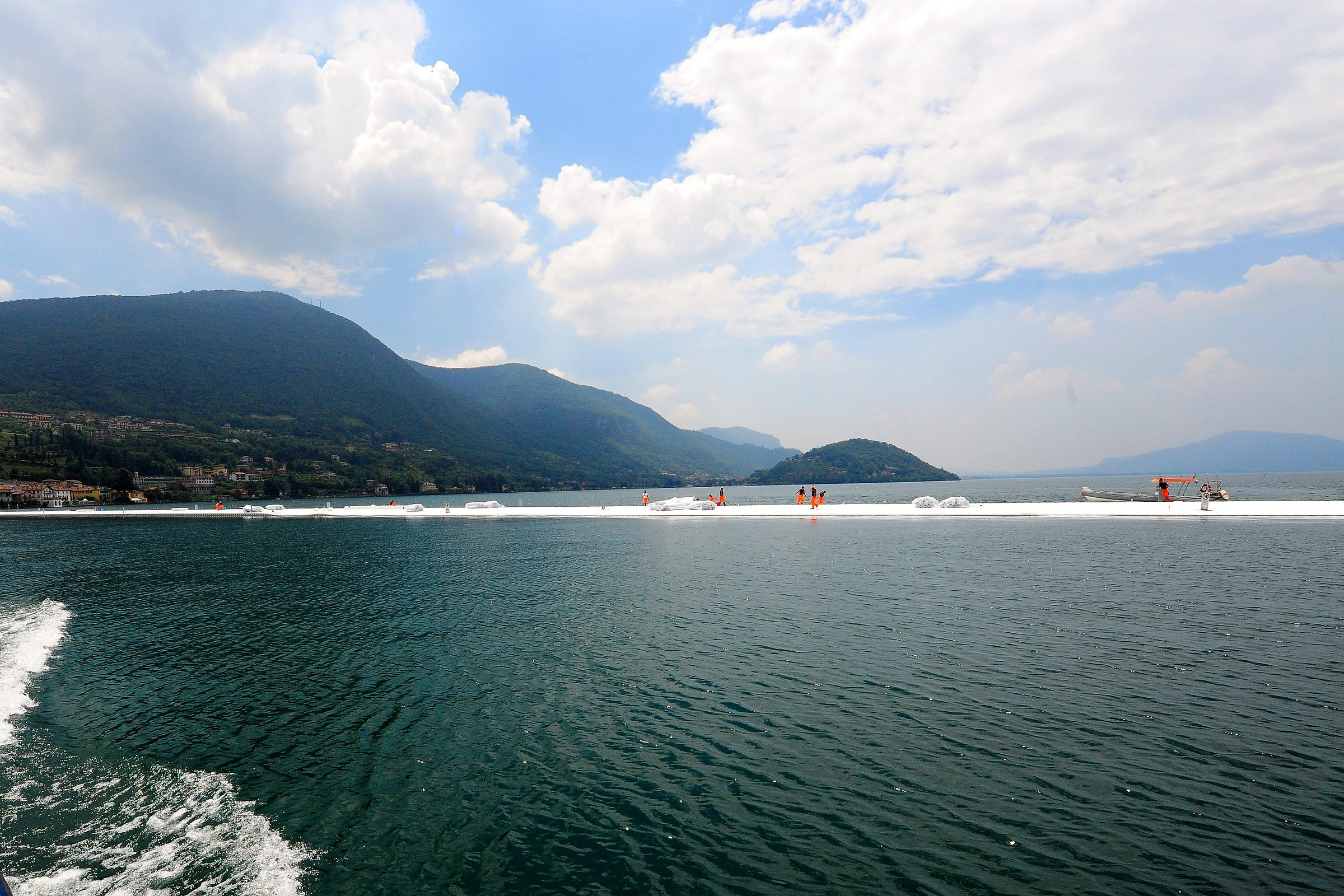 The Floating Piers...