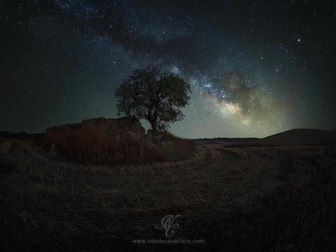 """Alba"" galactic in the Sicilian countryside..."