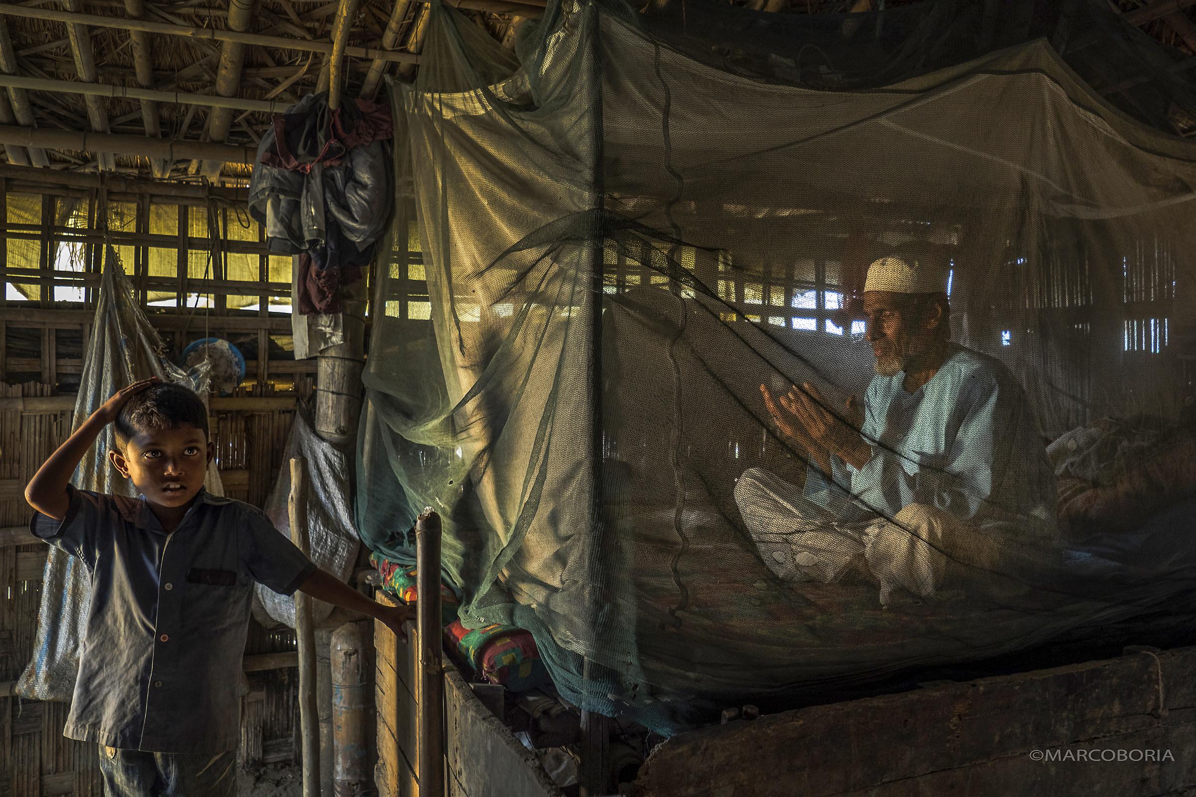 Prayer time - fishing village Chittagong...