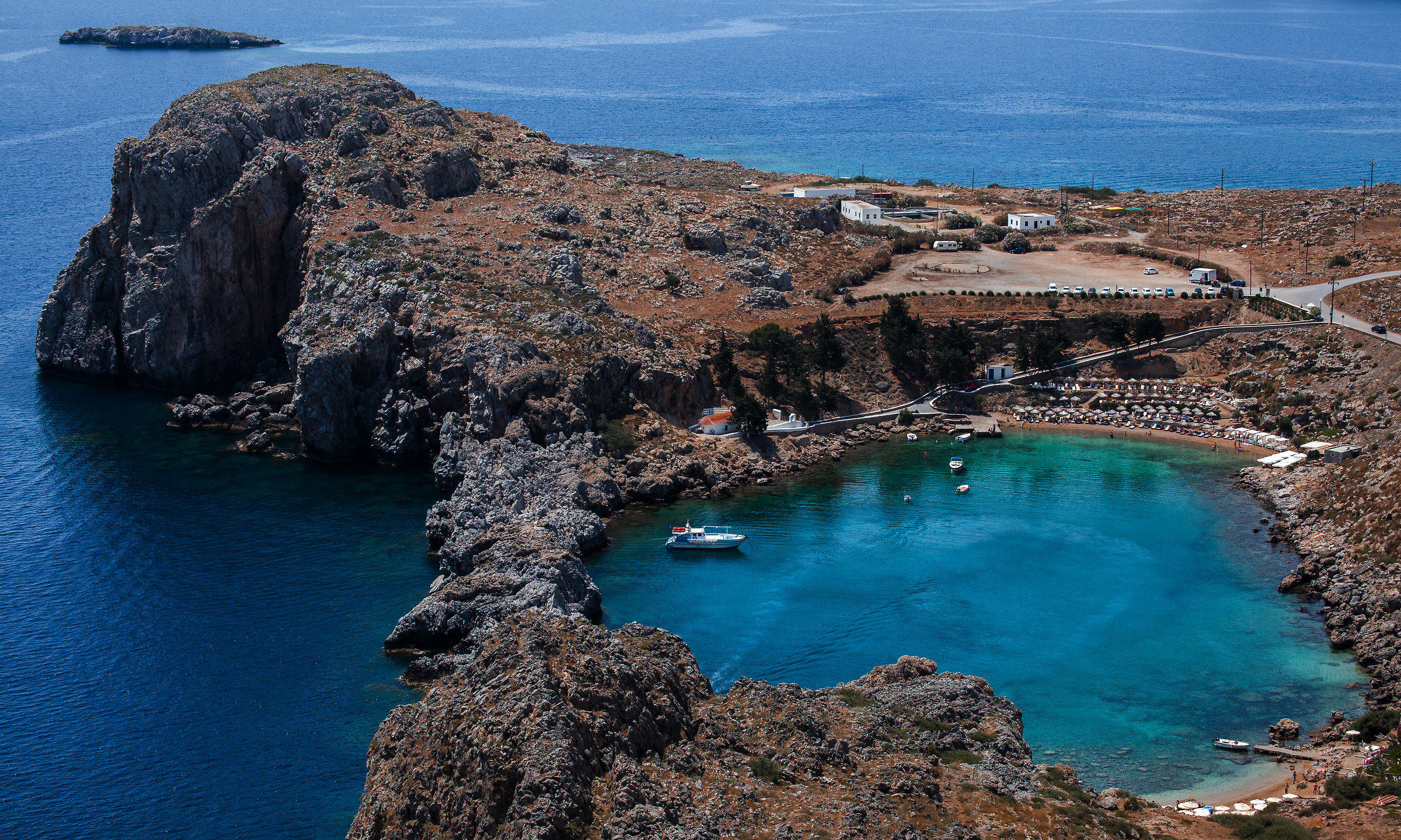 ST. Paul's bay - lindos...