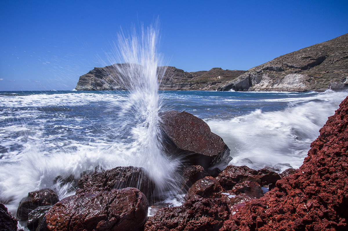 Red Beach Santorini...