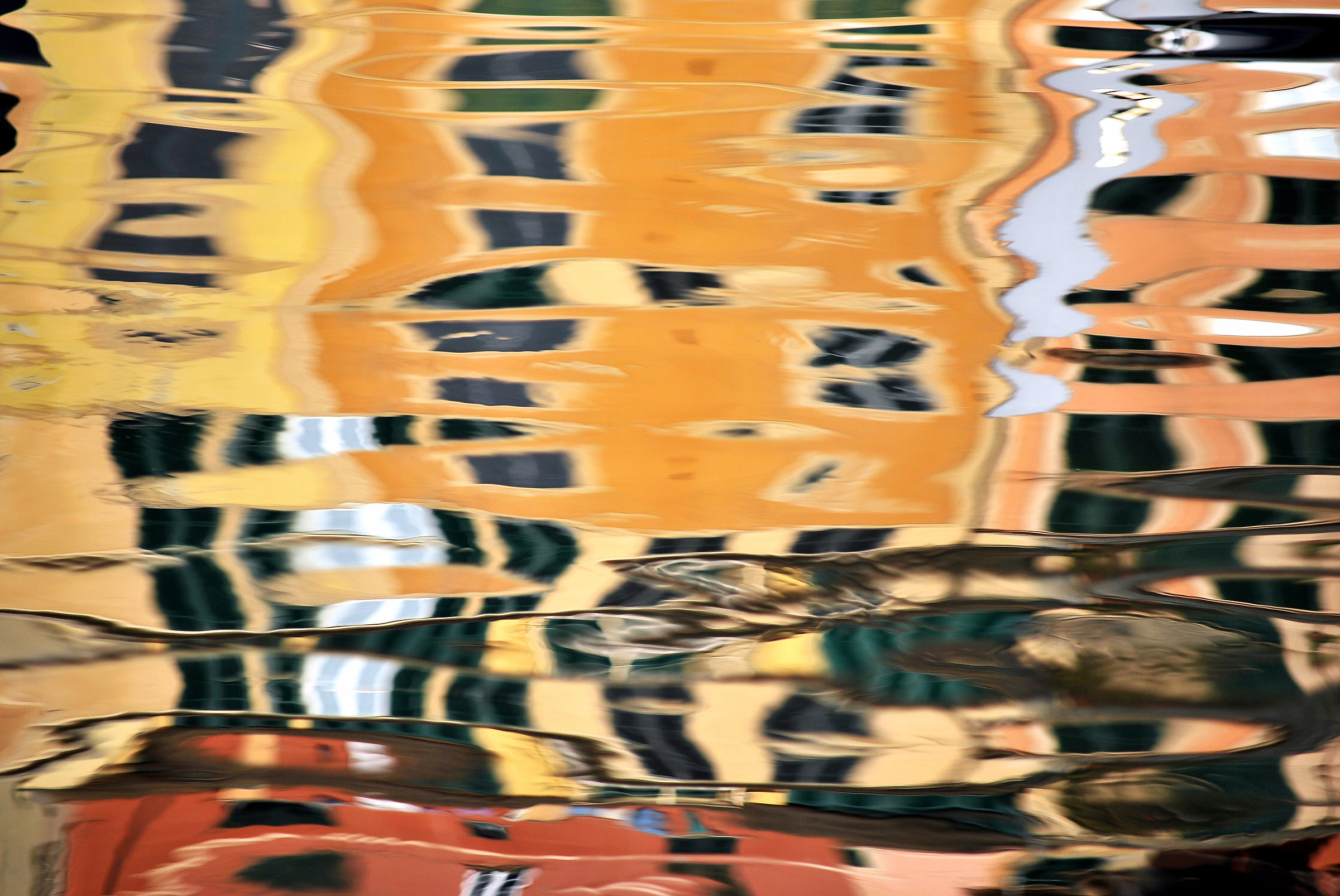 Reflections in Camogli...