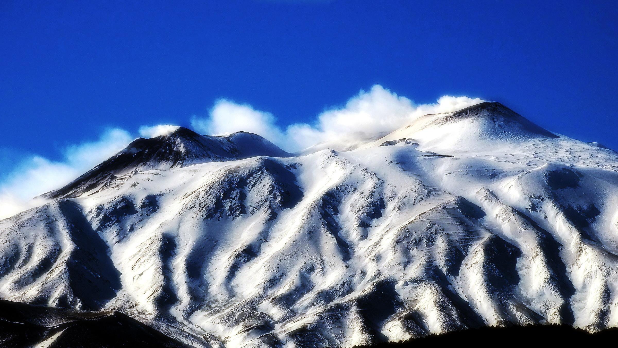 Etna north side...