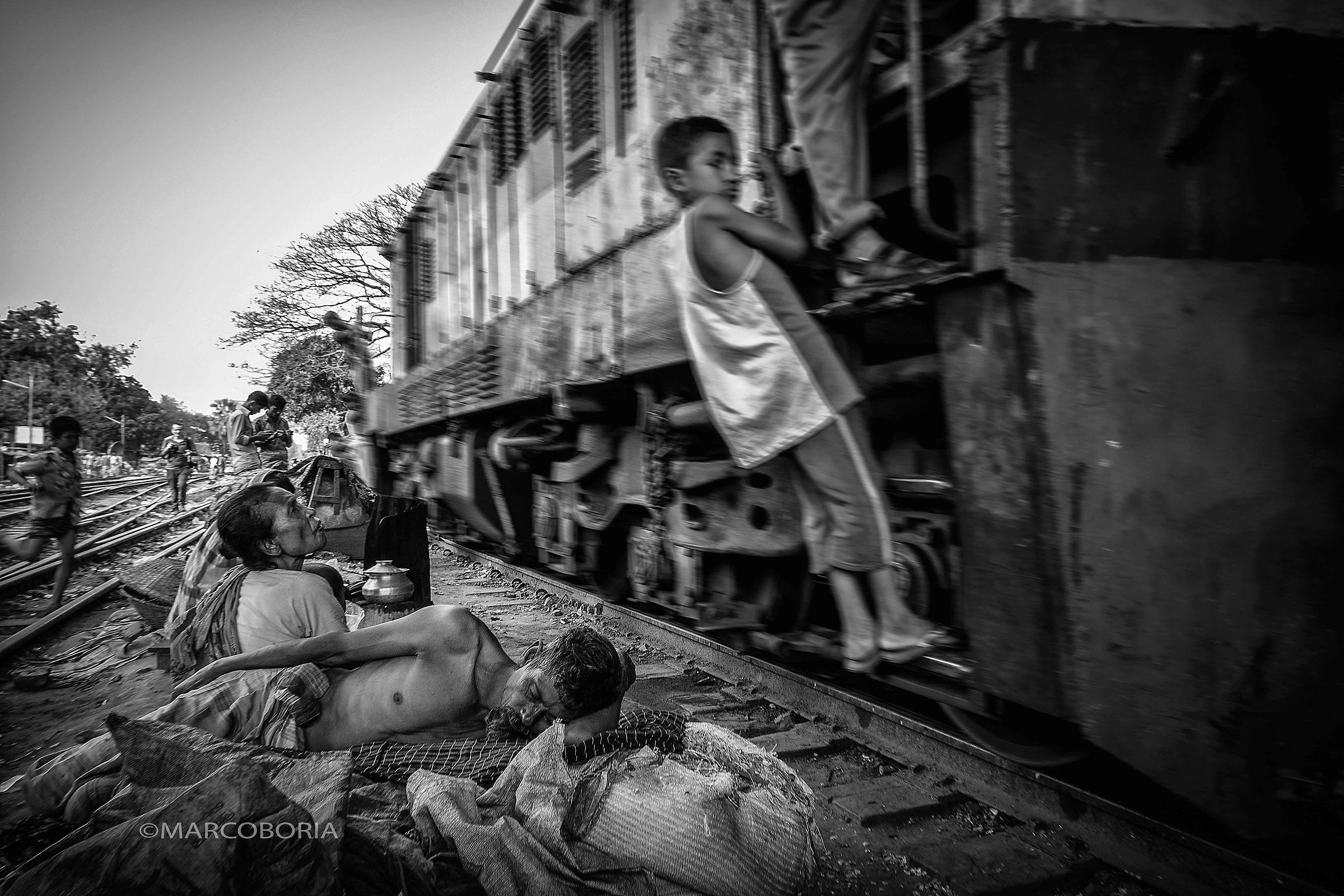 life on the rail line # 12-1...