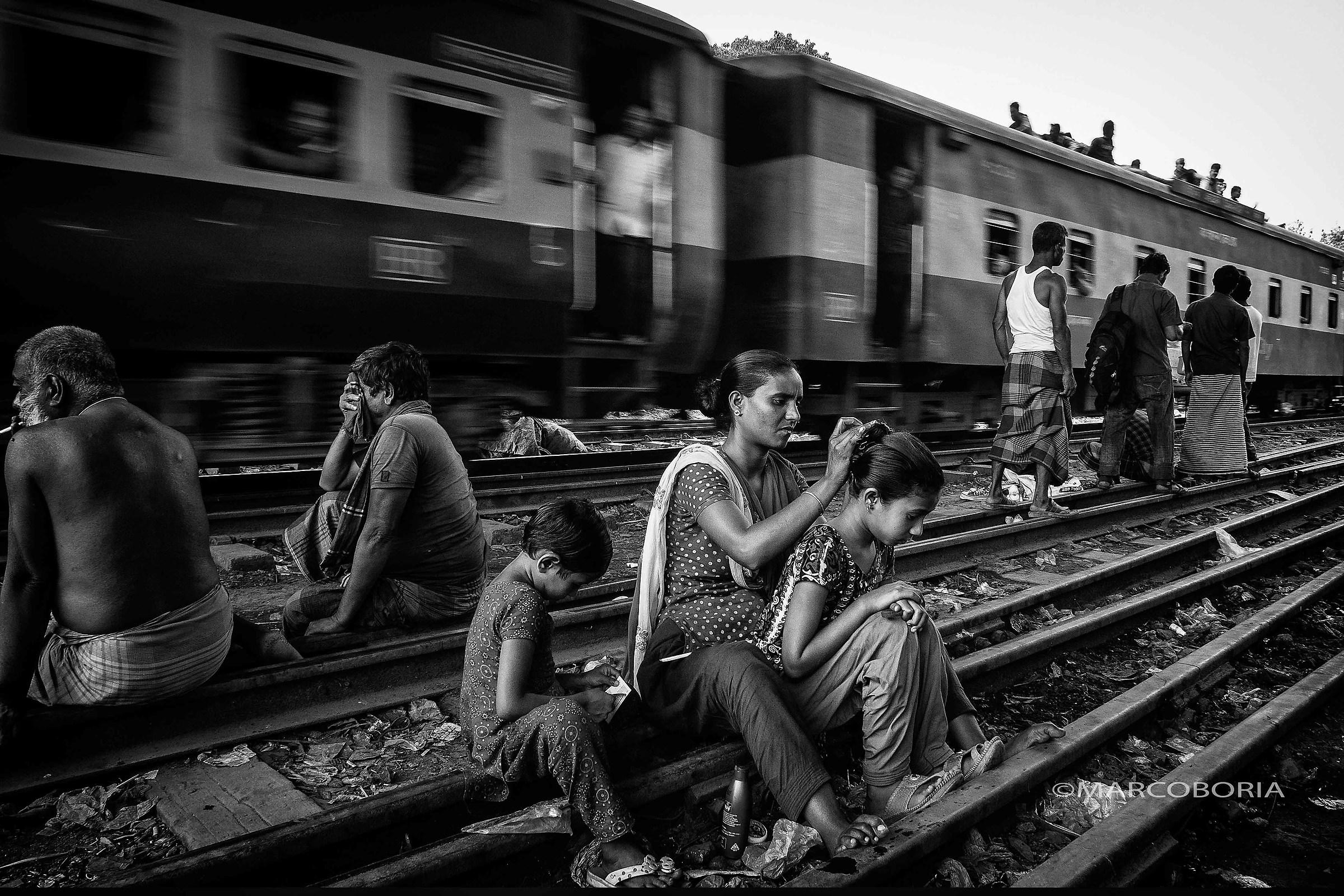 life on the rail line # 12-3...