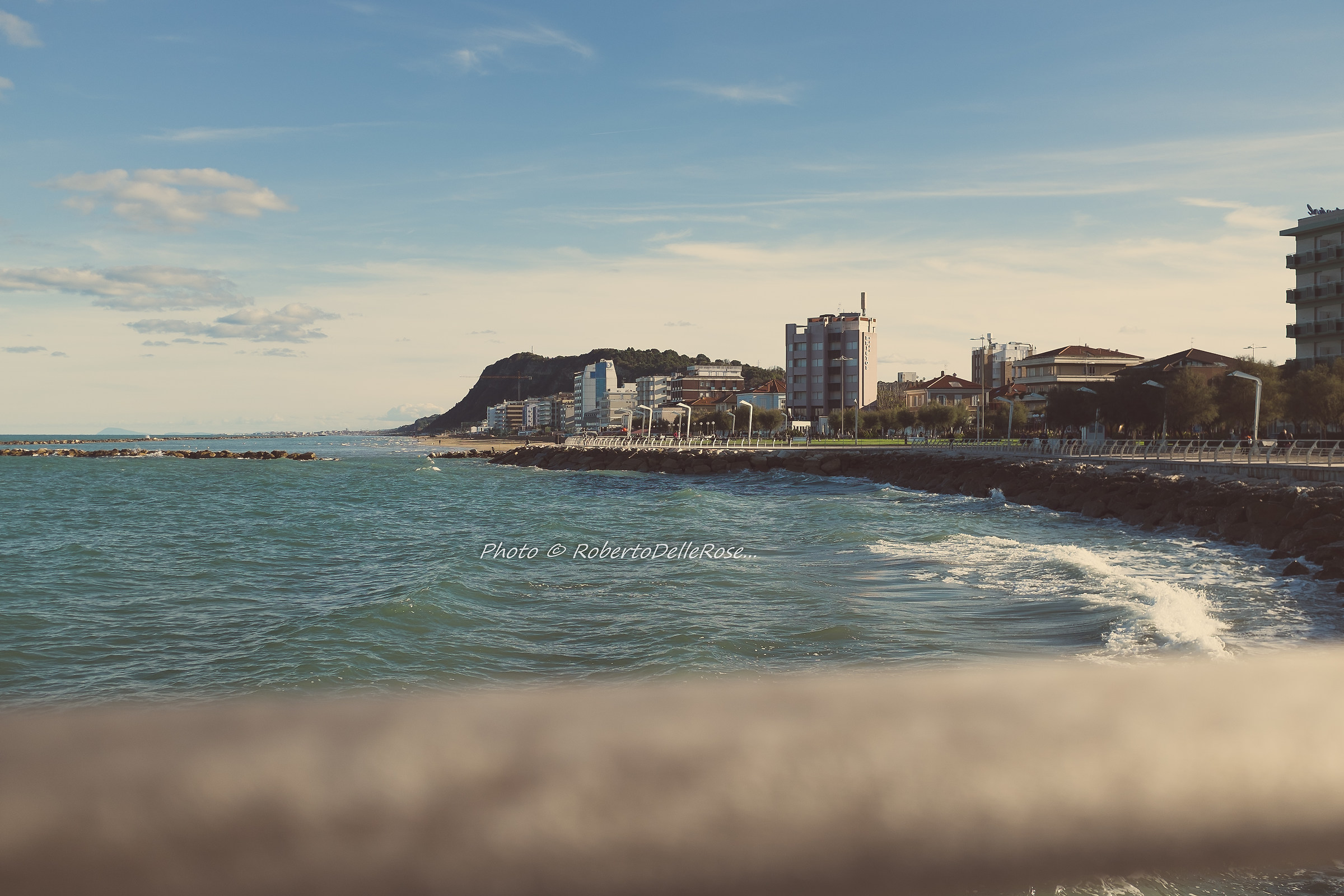 Pesaro from the pier...