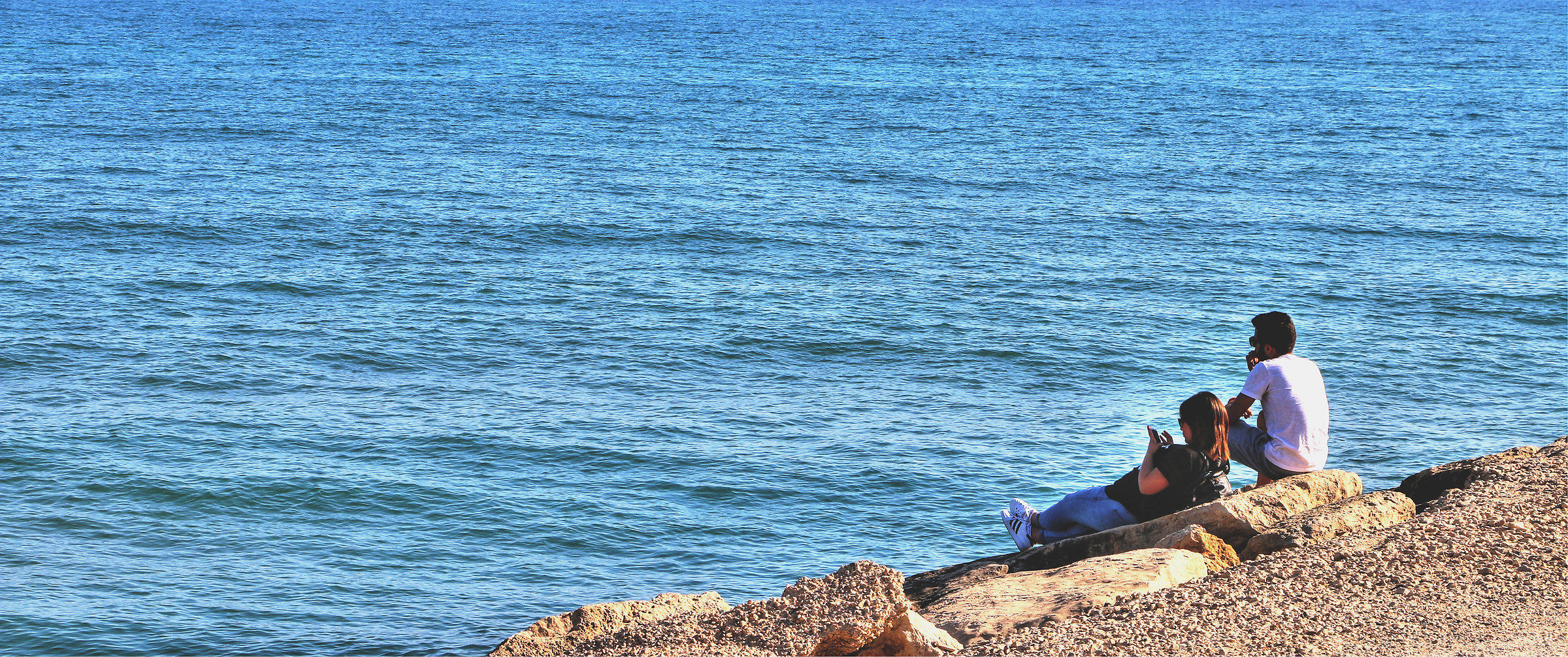 The sea, I, you and he ......