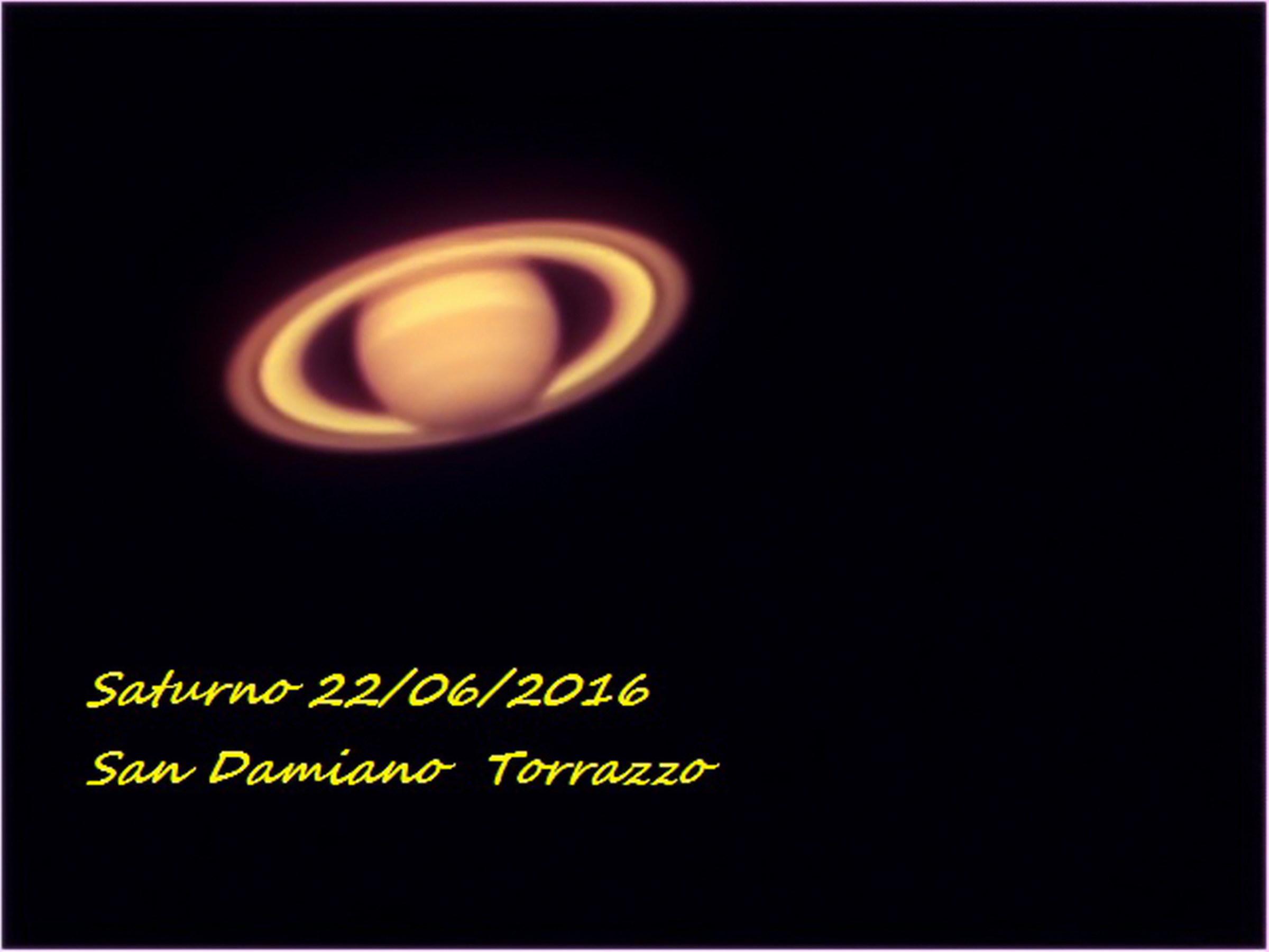 Saturn 06/22/2016...