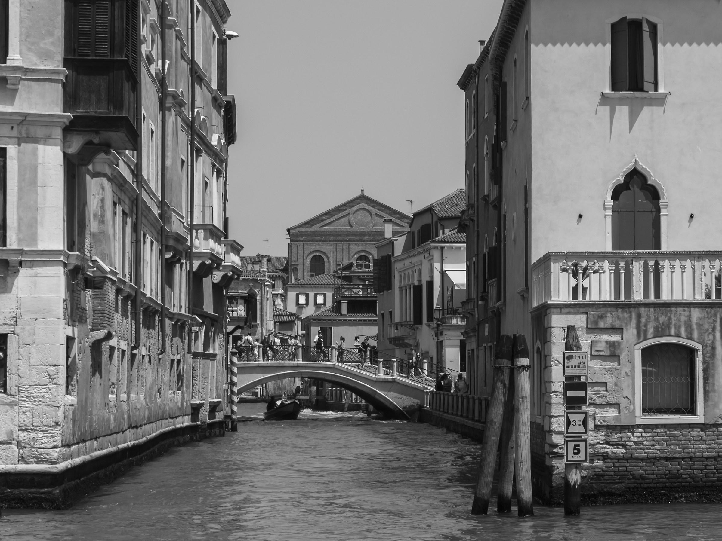 Rio di Noale dal Canal Grande...