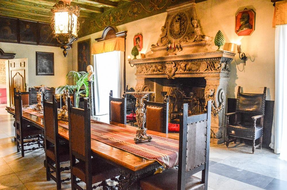 Interno Villa Niscemi, Stanza dei Re...