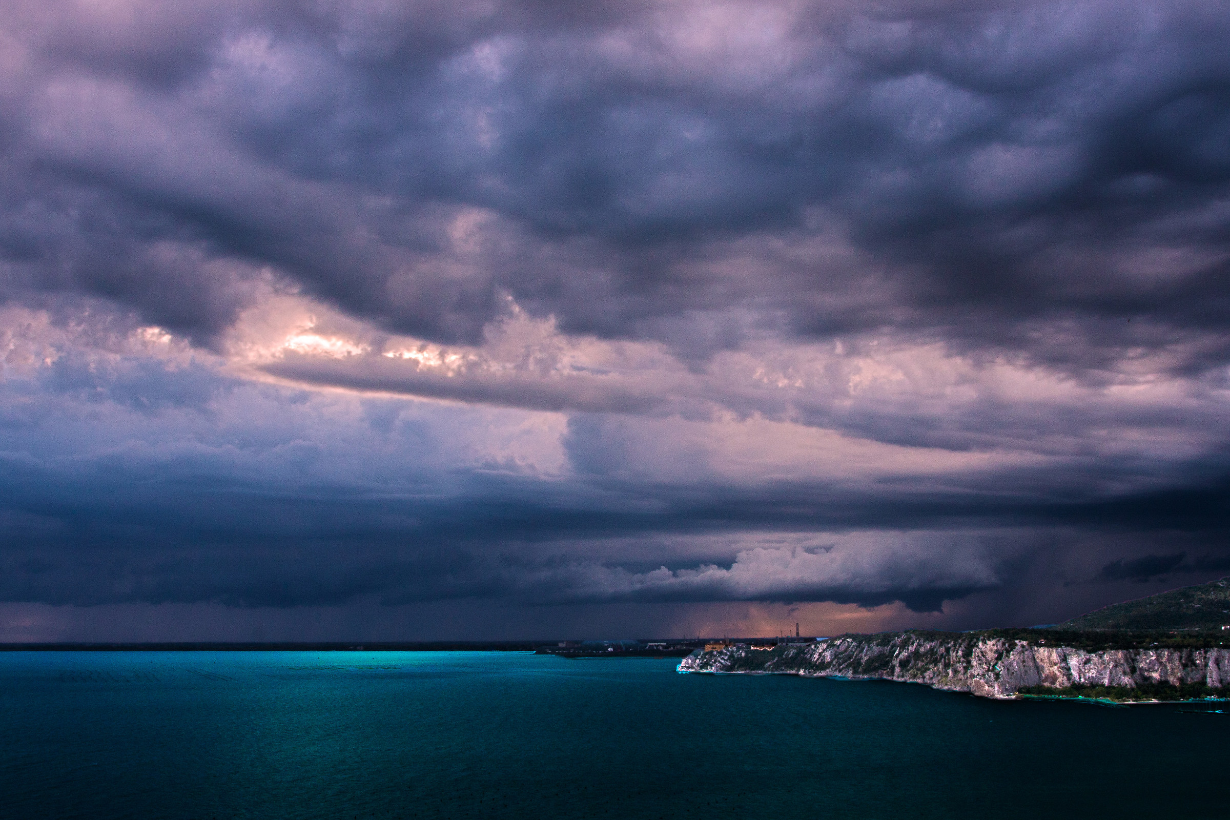Storm in arrive...