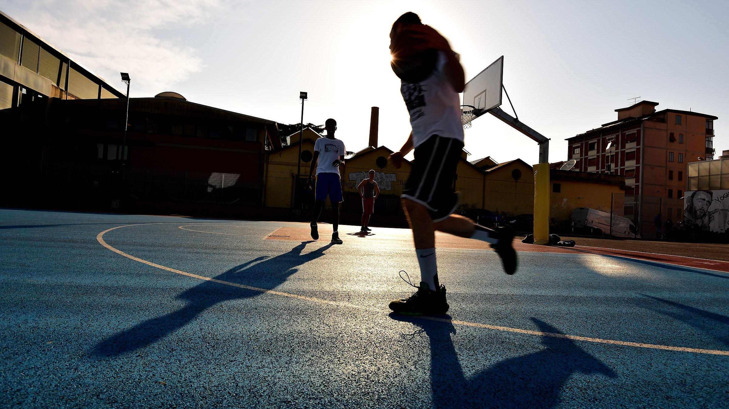 Street Basketball...