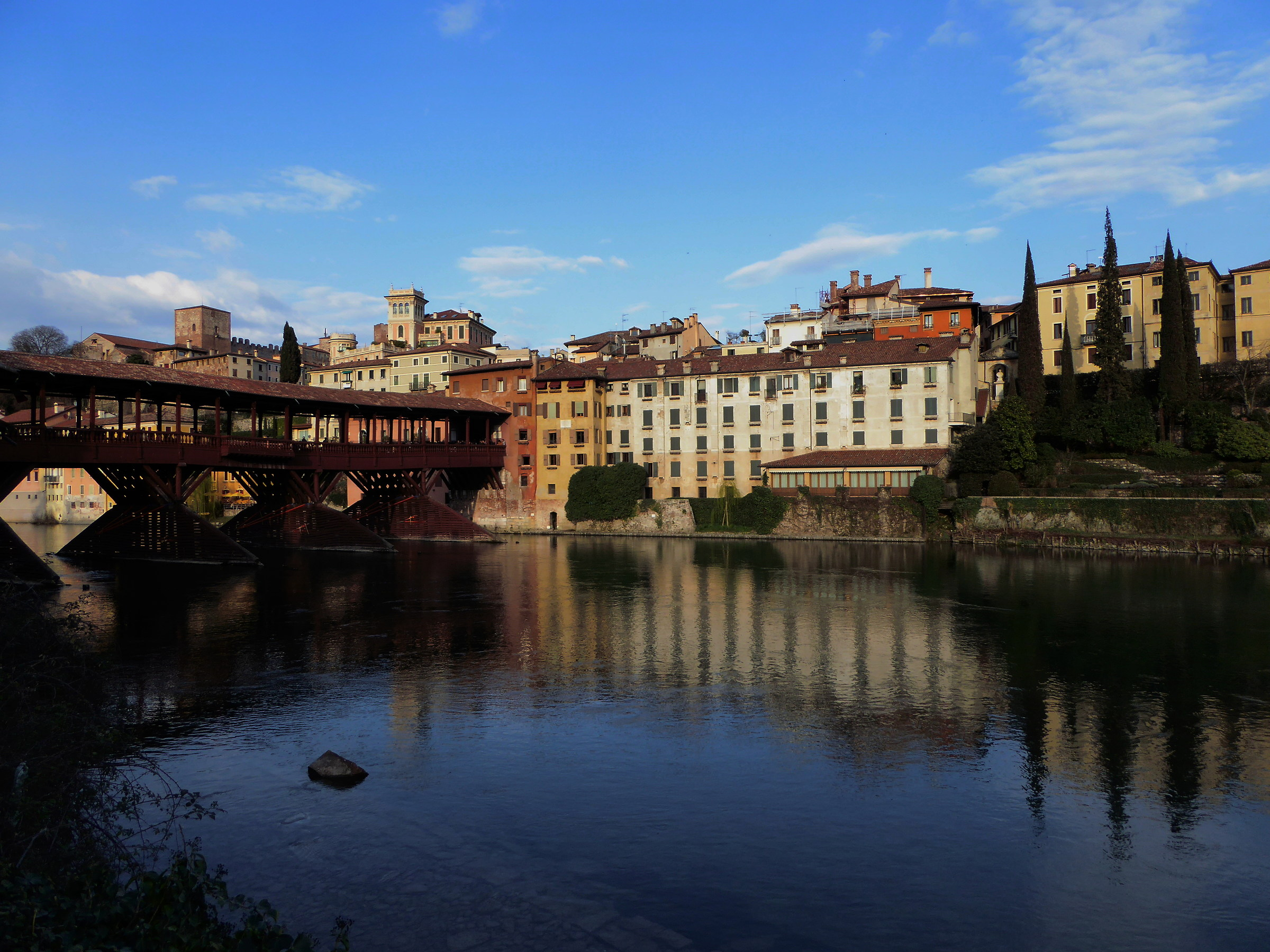 Bassano del Grappa the bridge of the Alpini...