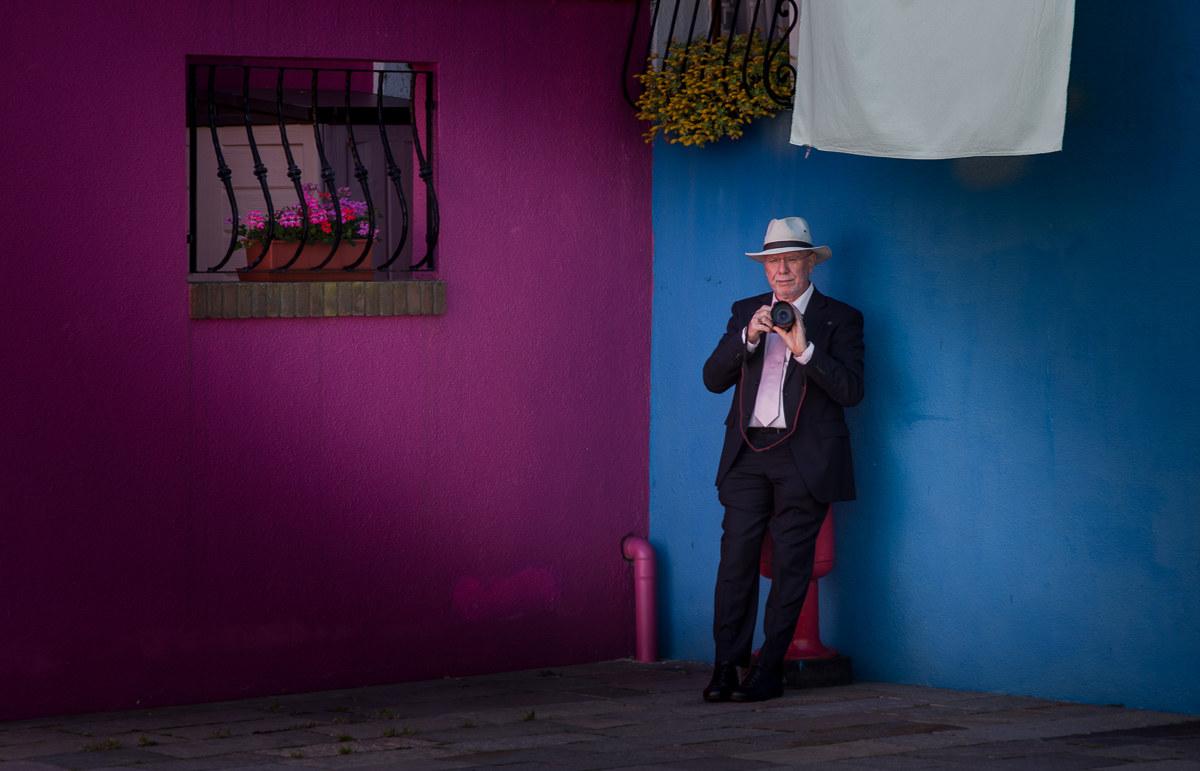 Burano Photographer ... in style!...