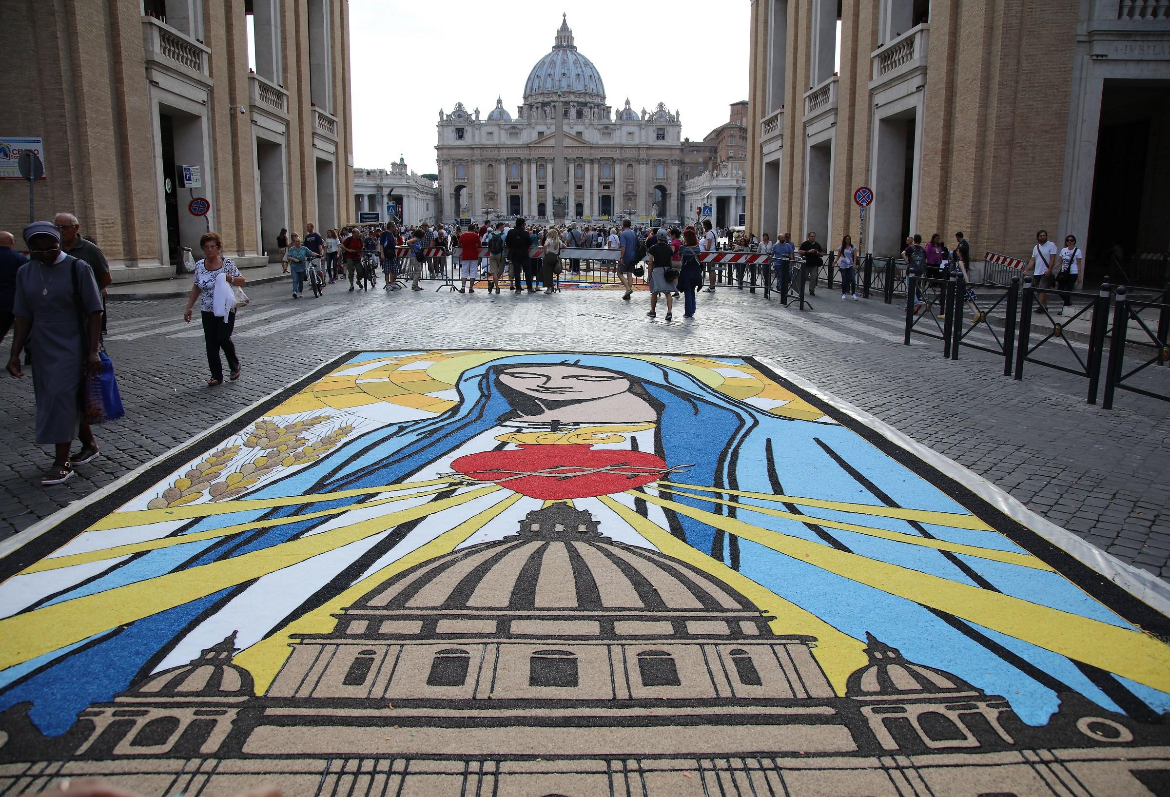 Infiorata a San Pietro...