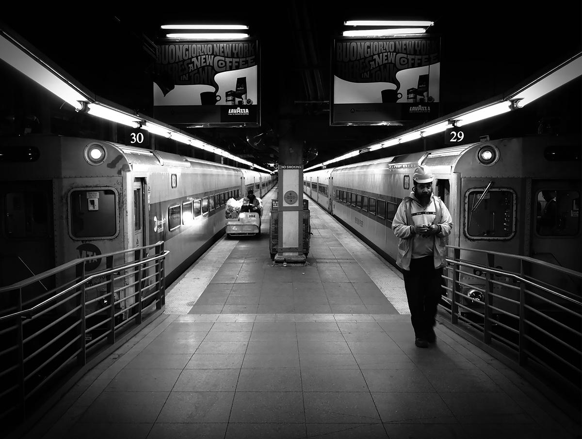 Underground...