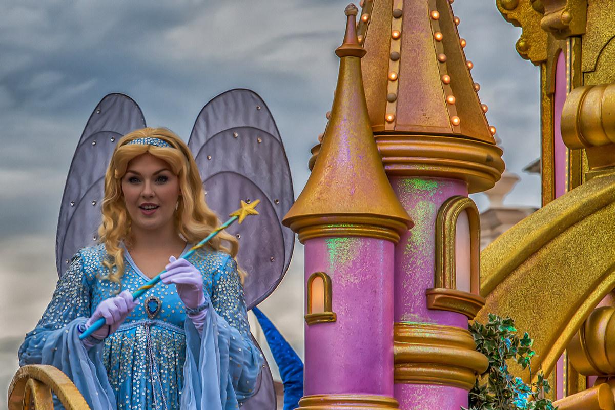 Disneyland Paris la fata turchina...