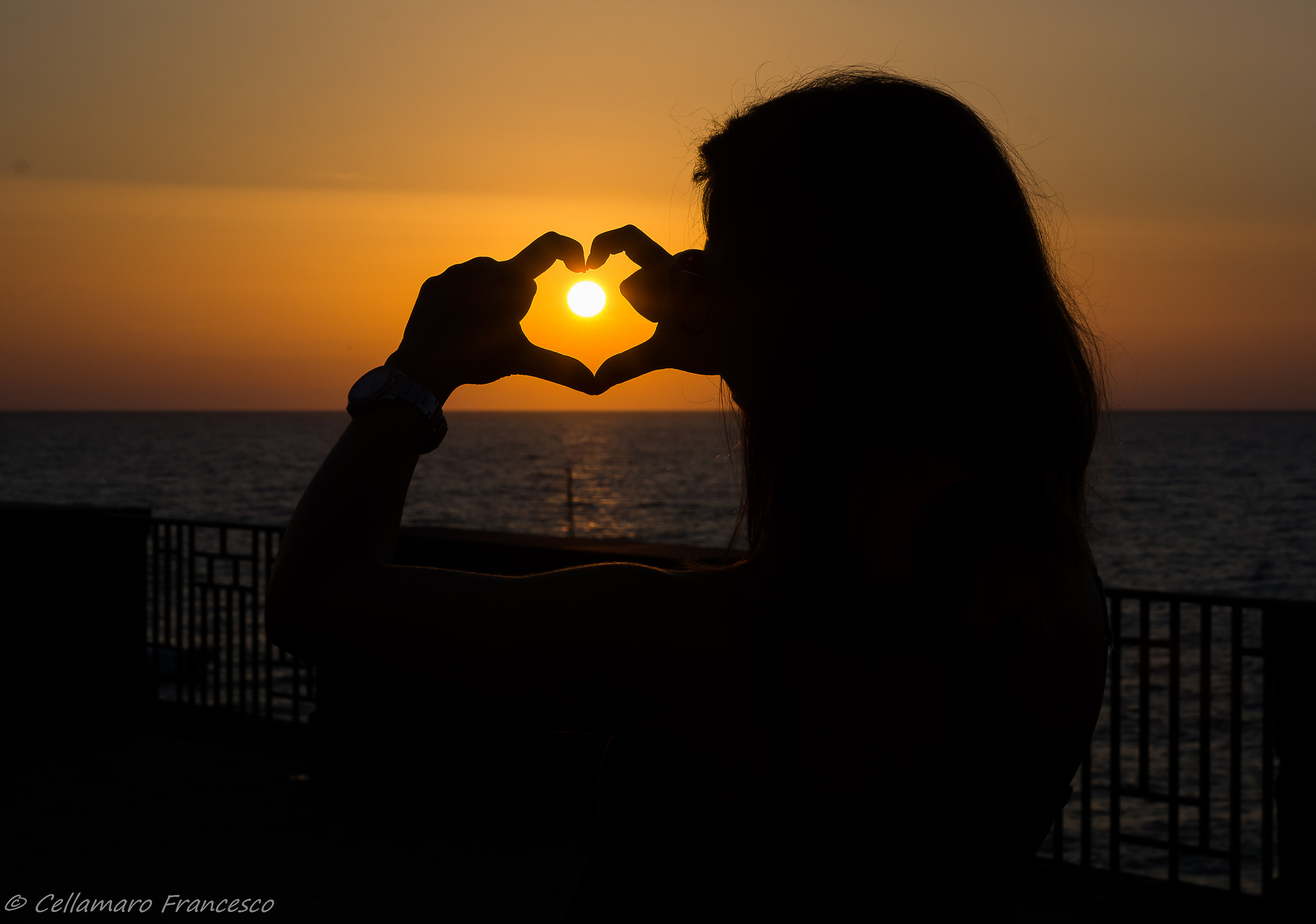 sunset in the heart...