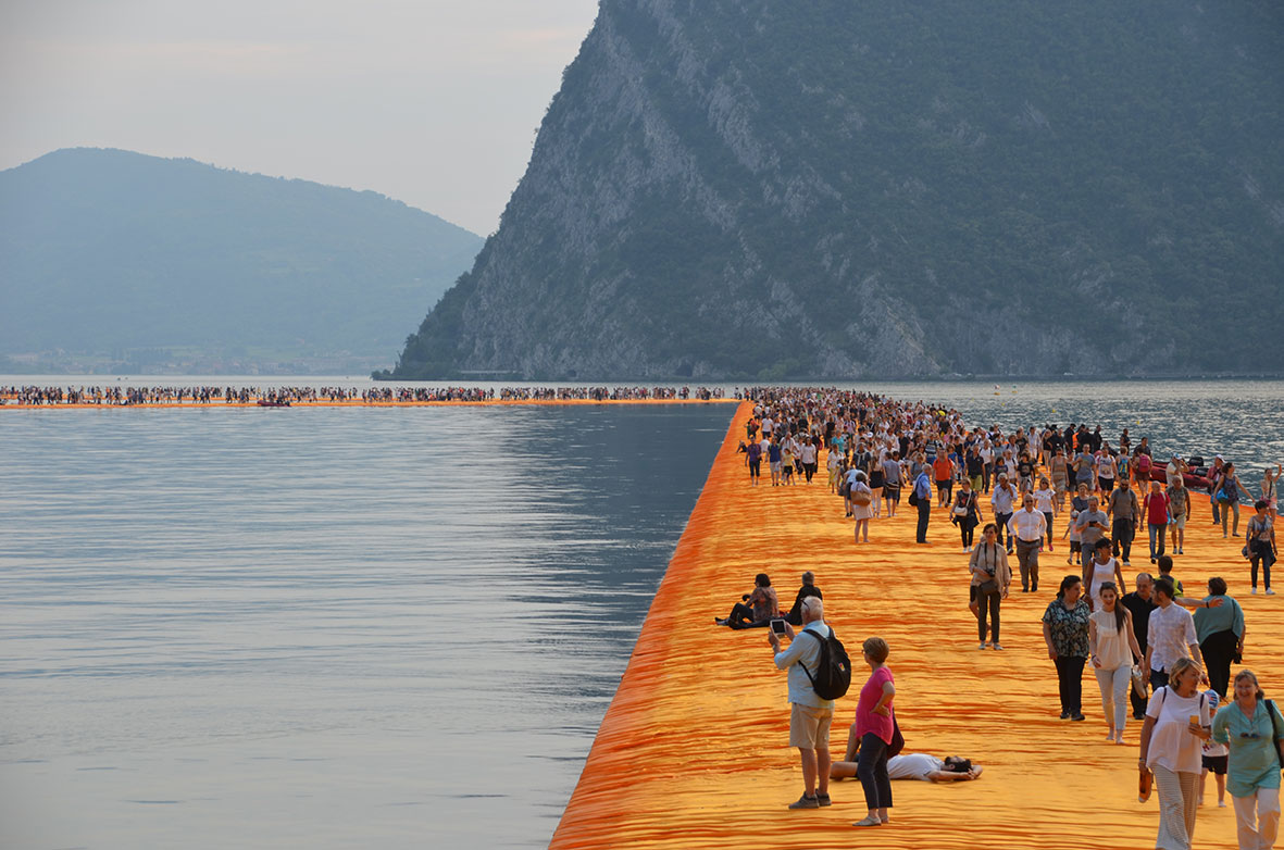 Iseo Walk on Water...