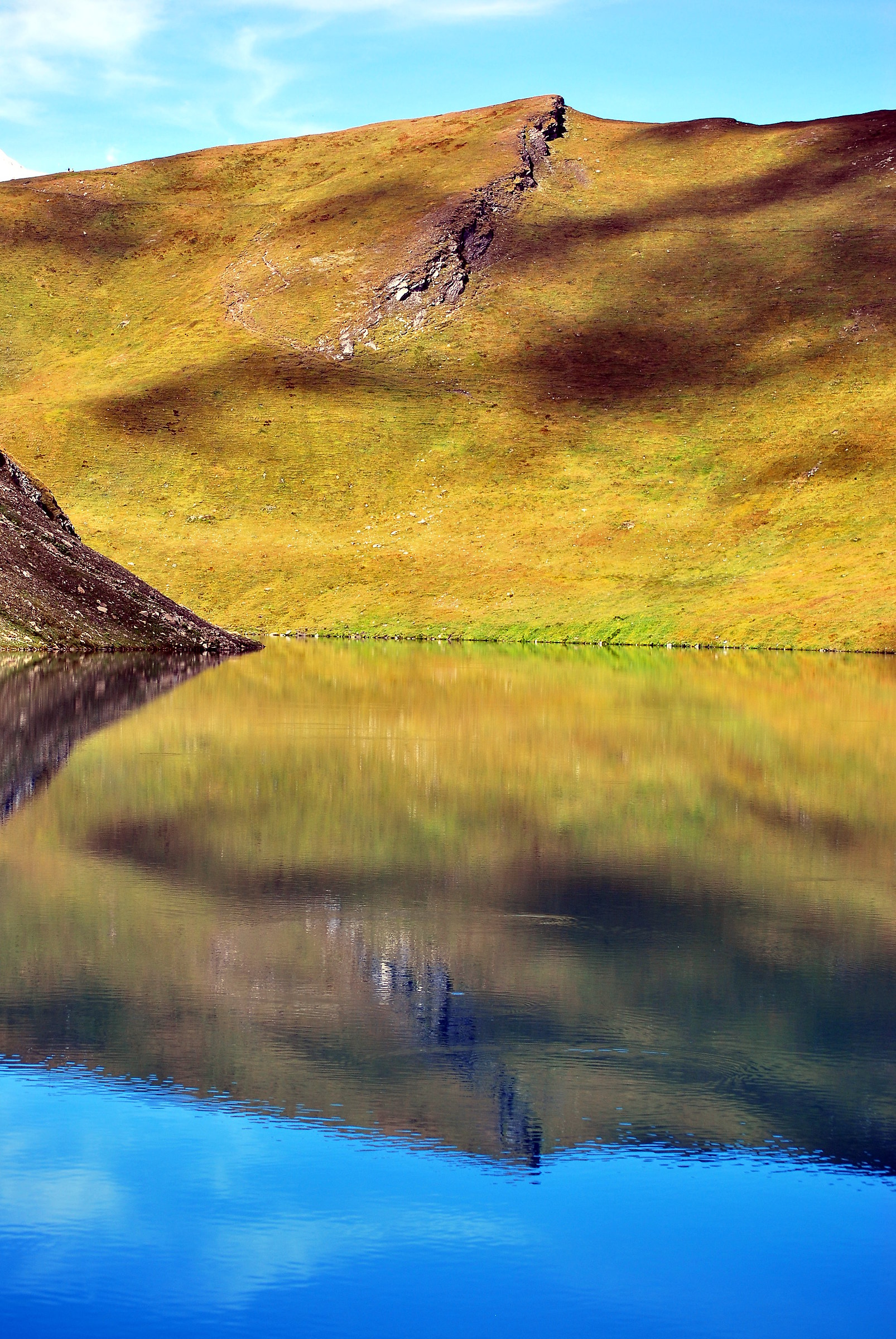 Reflection in the lake...