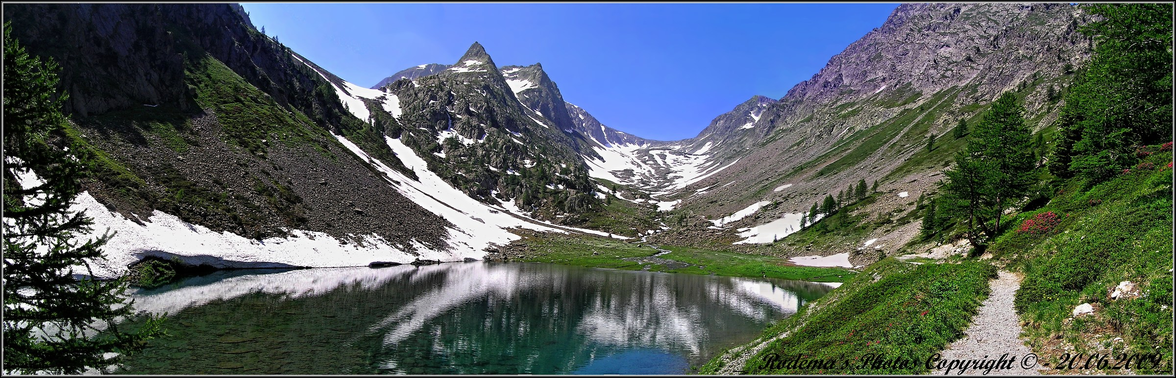 Lake and Valley of San Bernolfo...