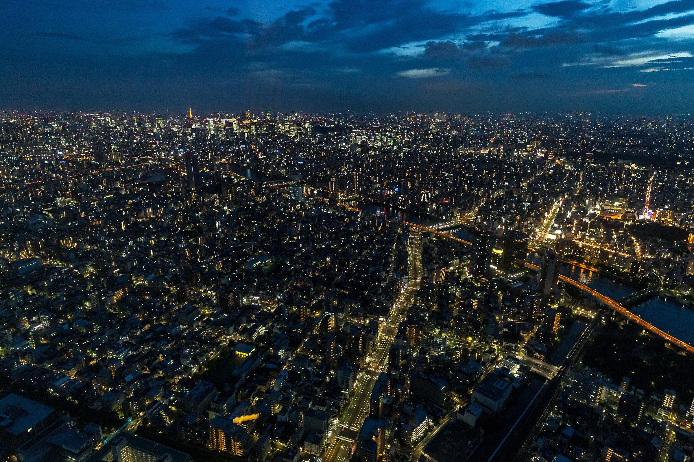 Lights of Tokyo...